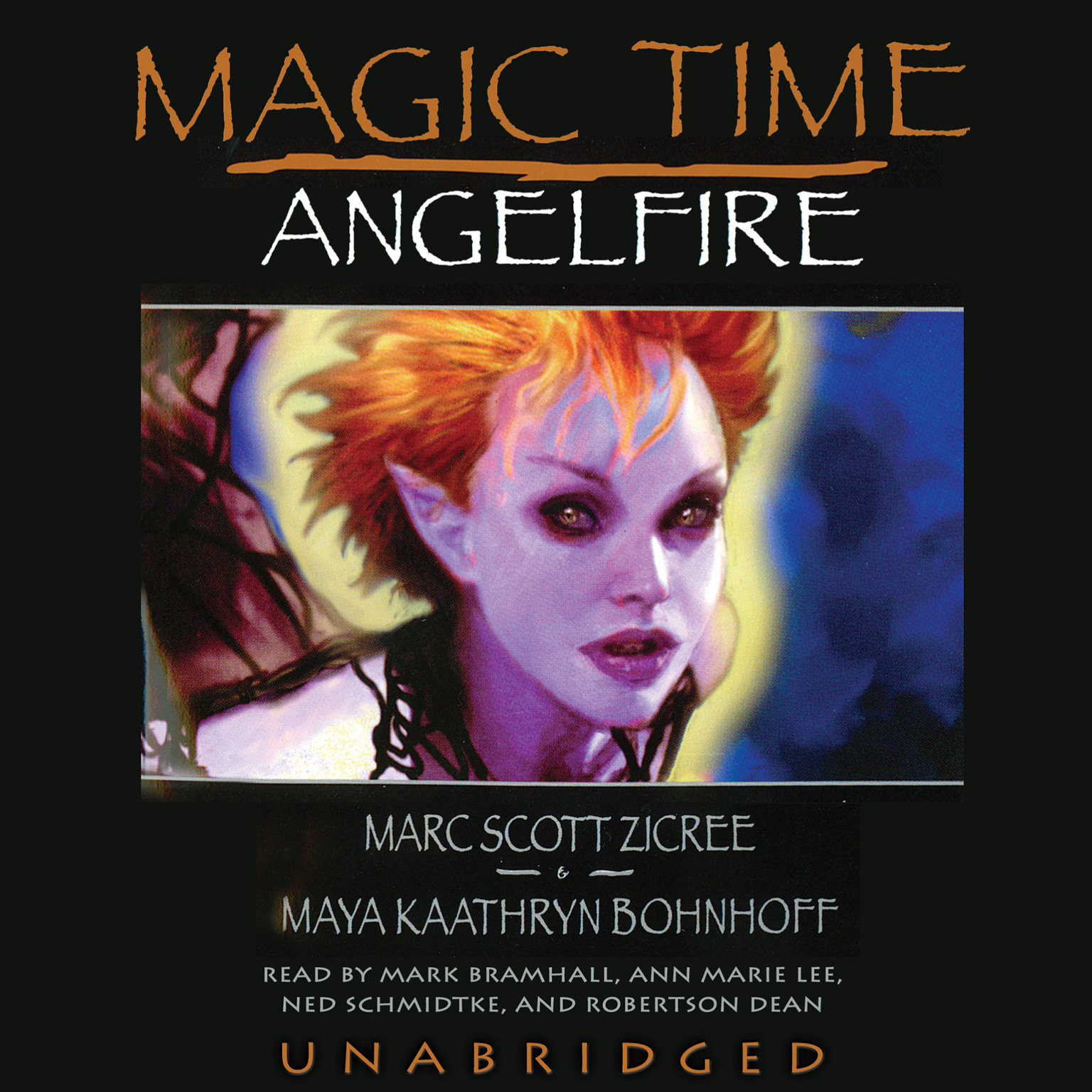 Printable Magic Time: Angelfire Audiobook Cover Art