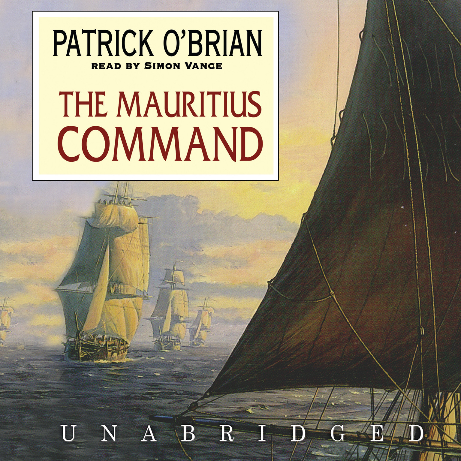Printable The Mauritius Command Audiobook Cover Art
