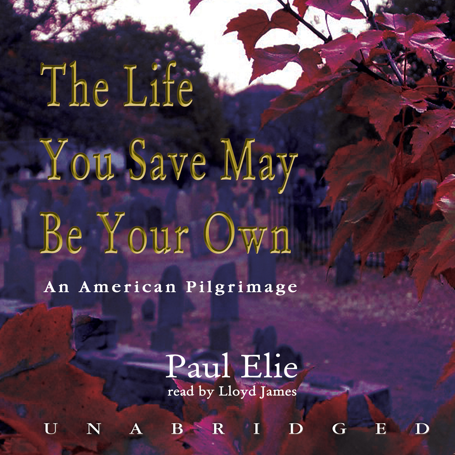 Printable The Life You Save May Be Your Own: An American Pilgrimage Audiobook Cover Art