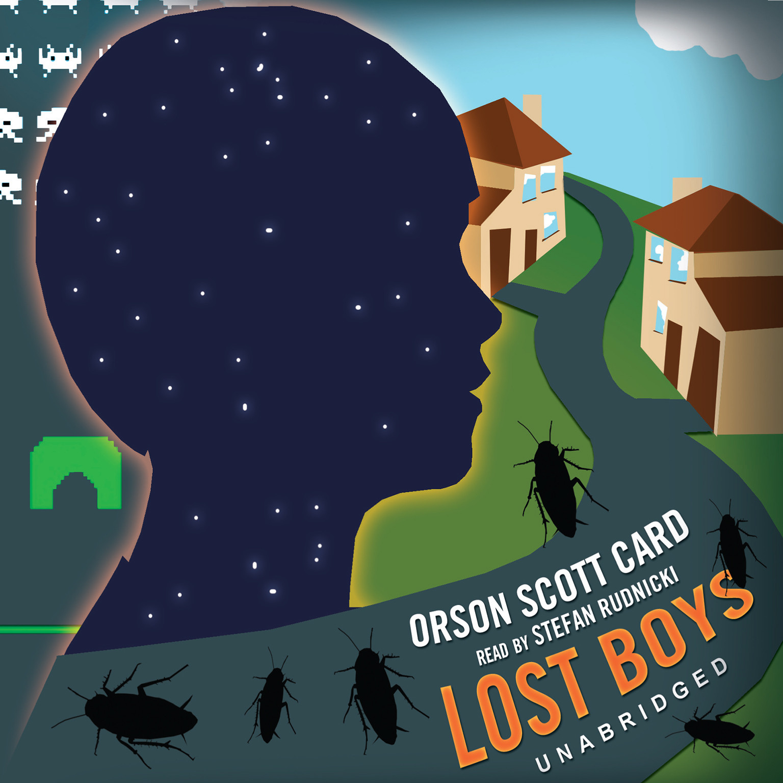 Printable Lost Boys Audiobook Cover Art