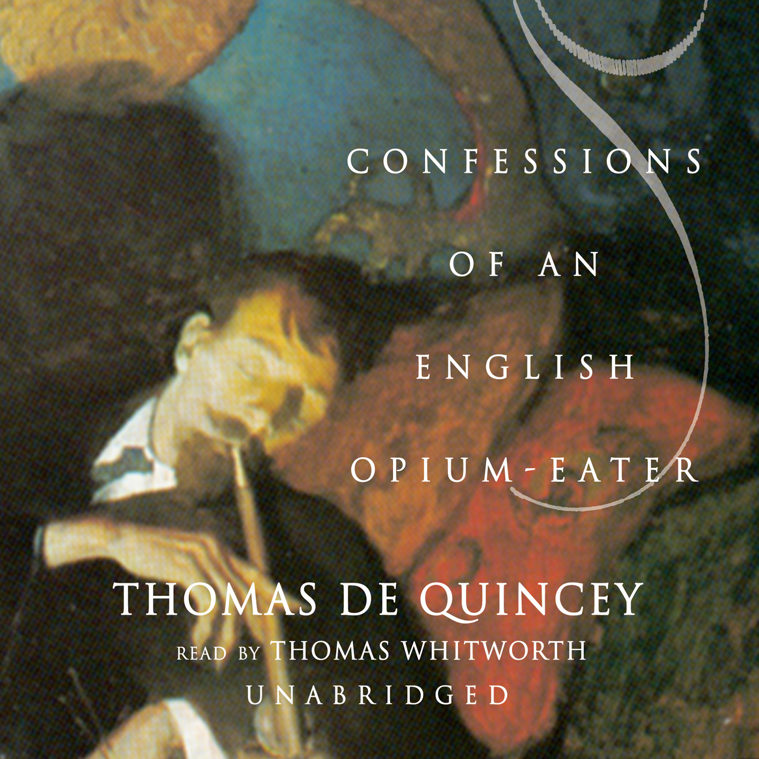 Printable Confessions of an English Opium-Eater Audiobook Cover Art
