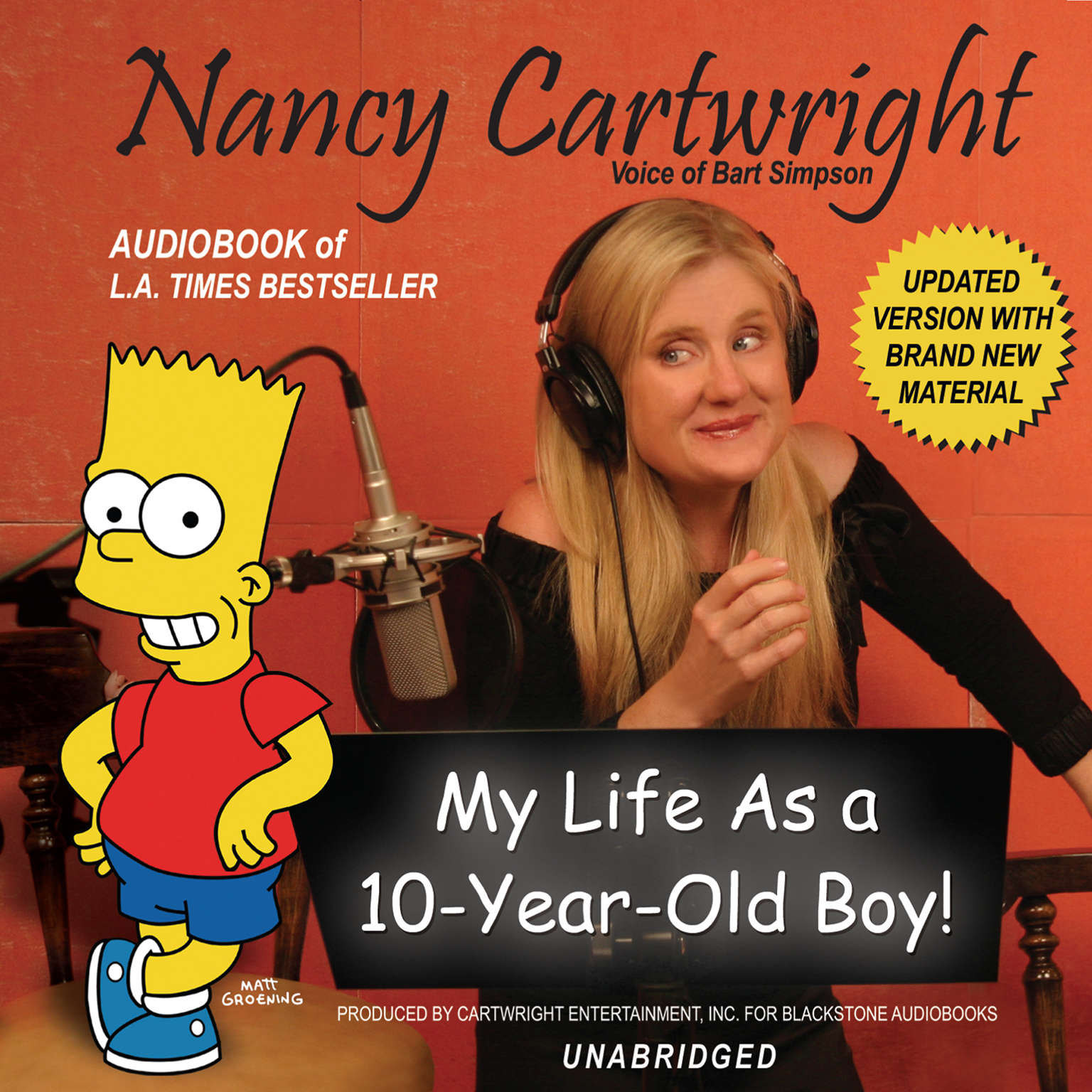 Printable My Life as a 10-Year-Old Boy! Audiobook Cover Art