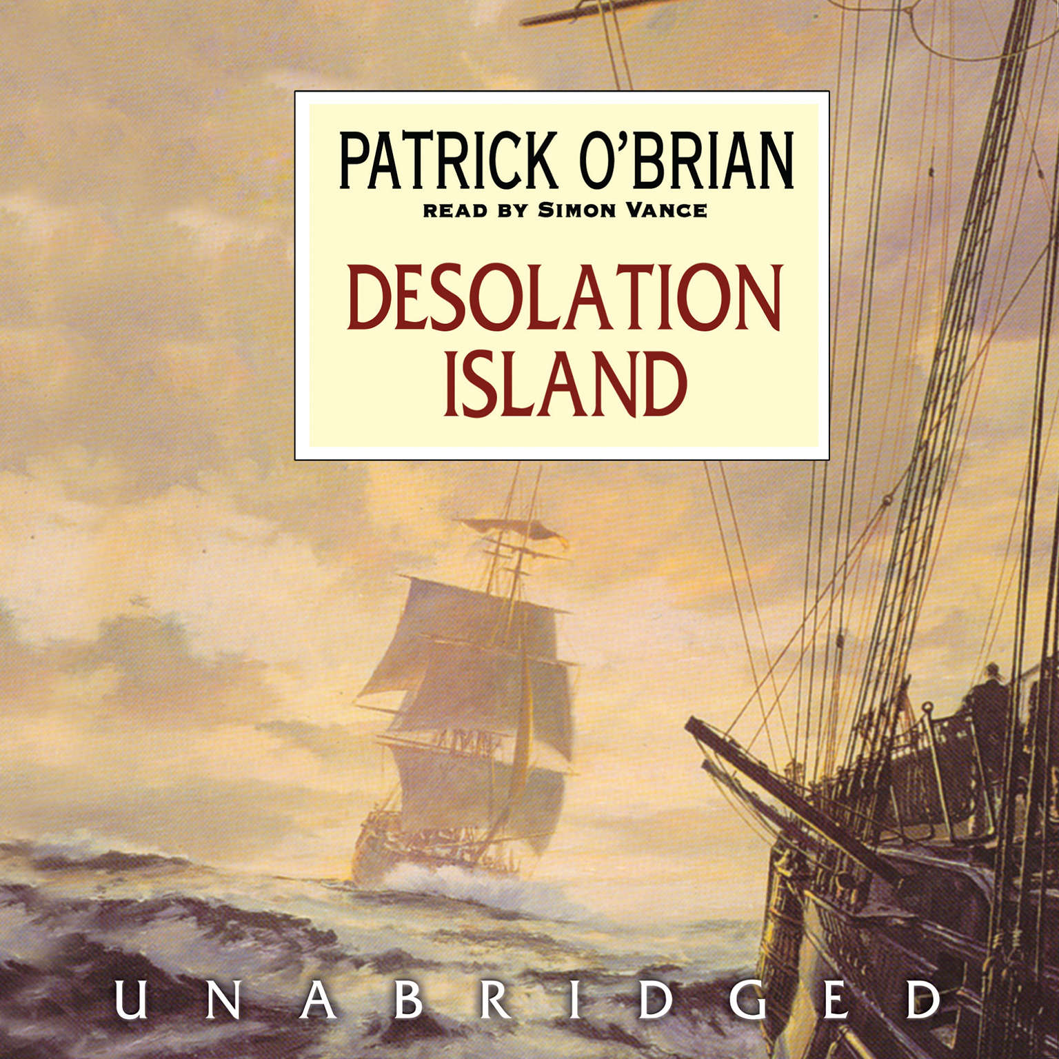 Printable Desolation Island Audiobook Cover Art