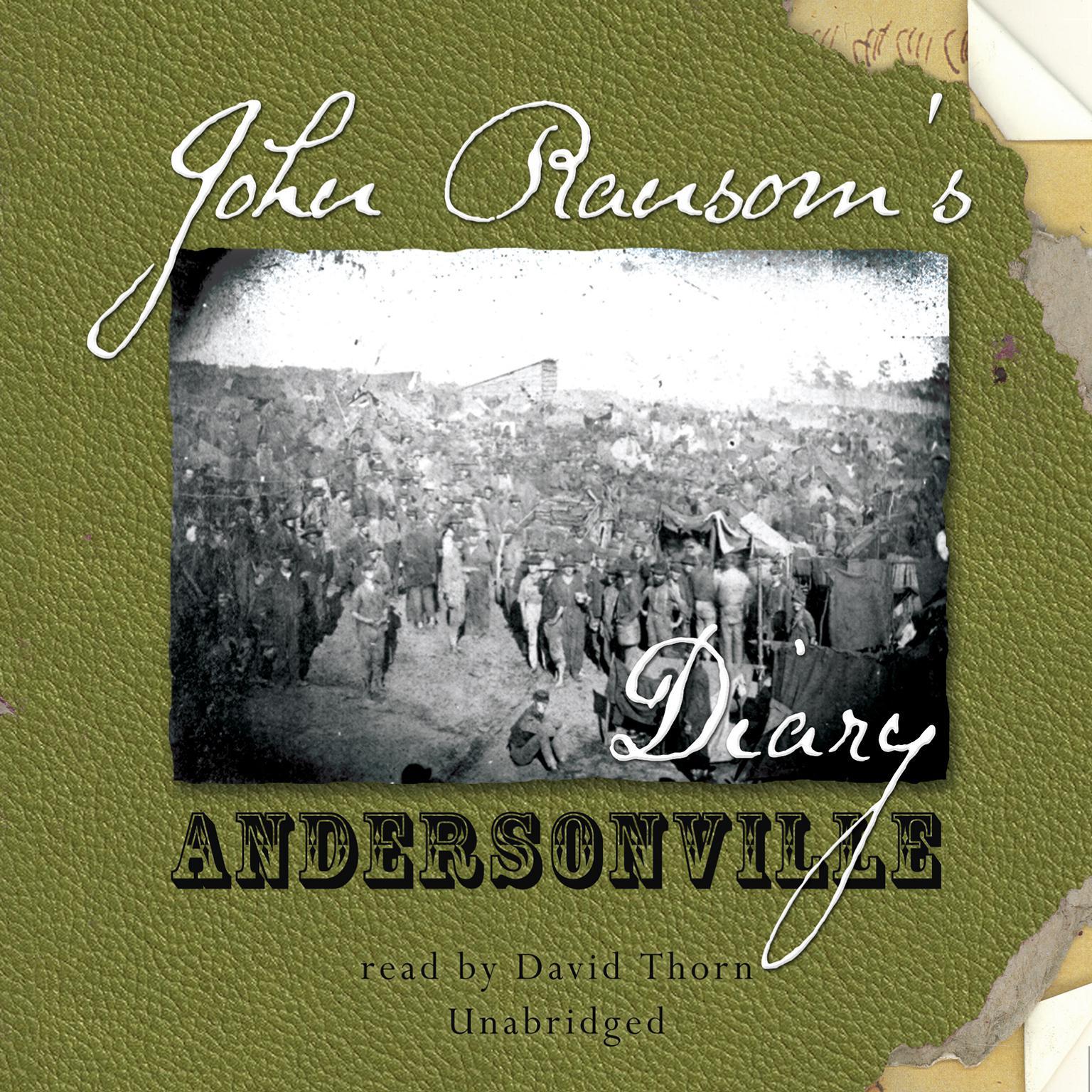 Printable John Ransom's Diary: Andersonville Audiobook Cover Art