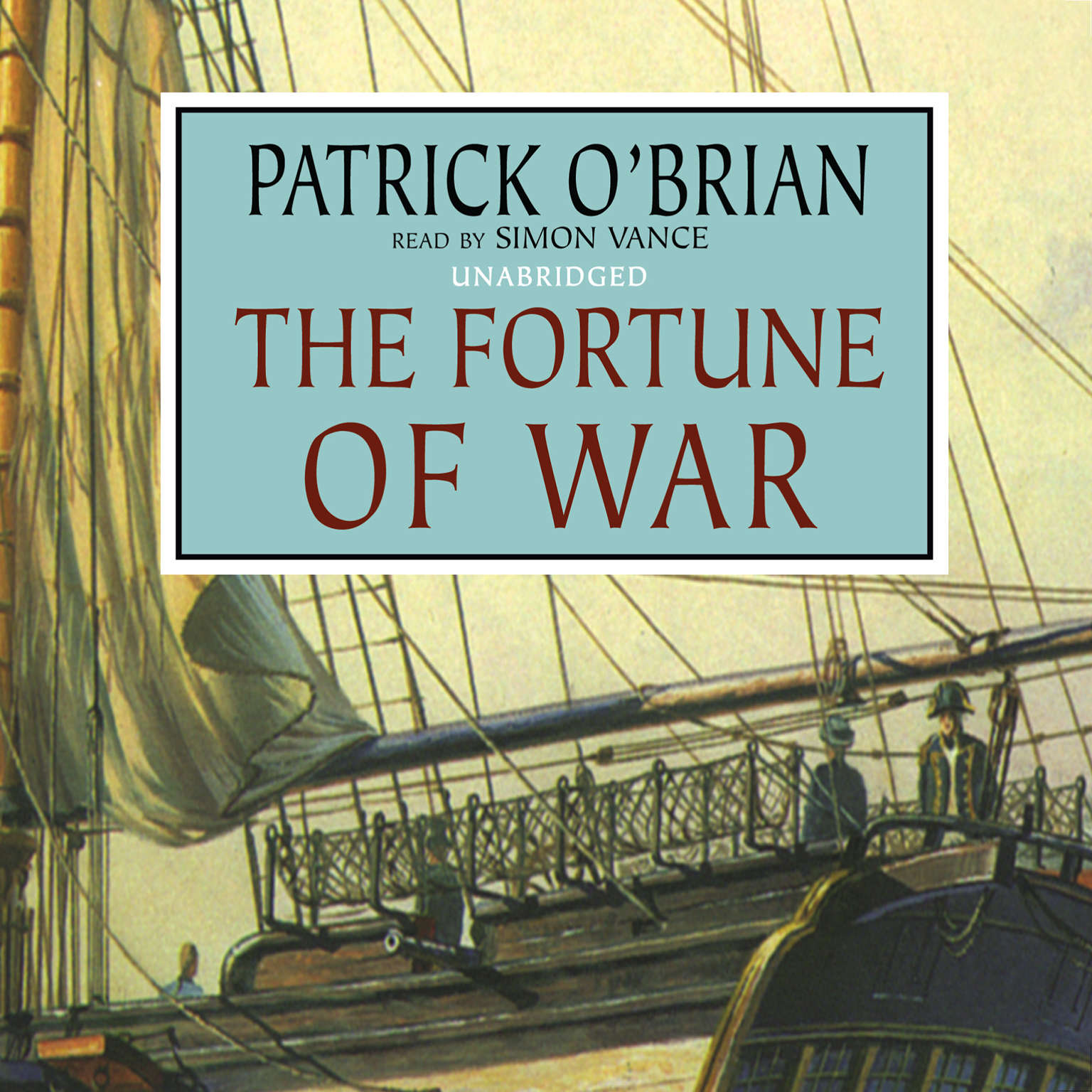 Printable The Fortune of War Audiobook Cover Art
