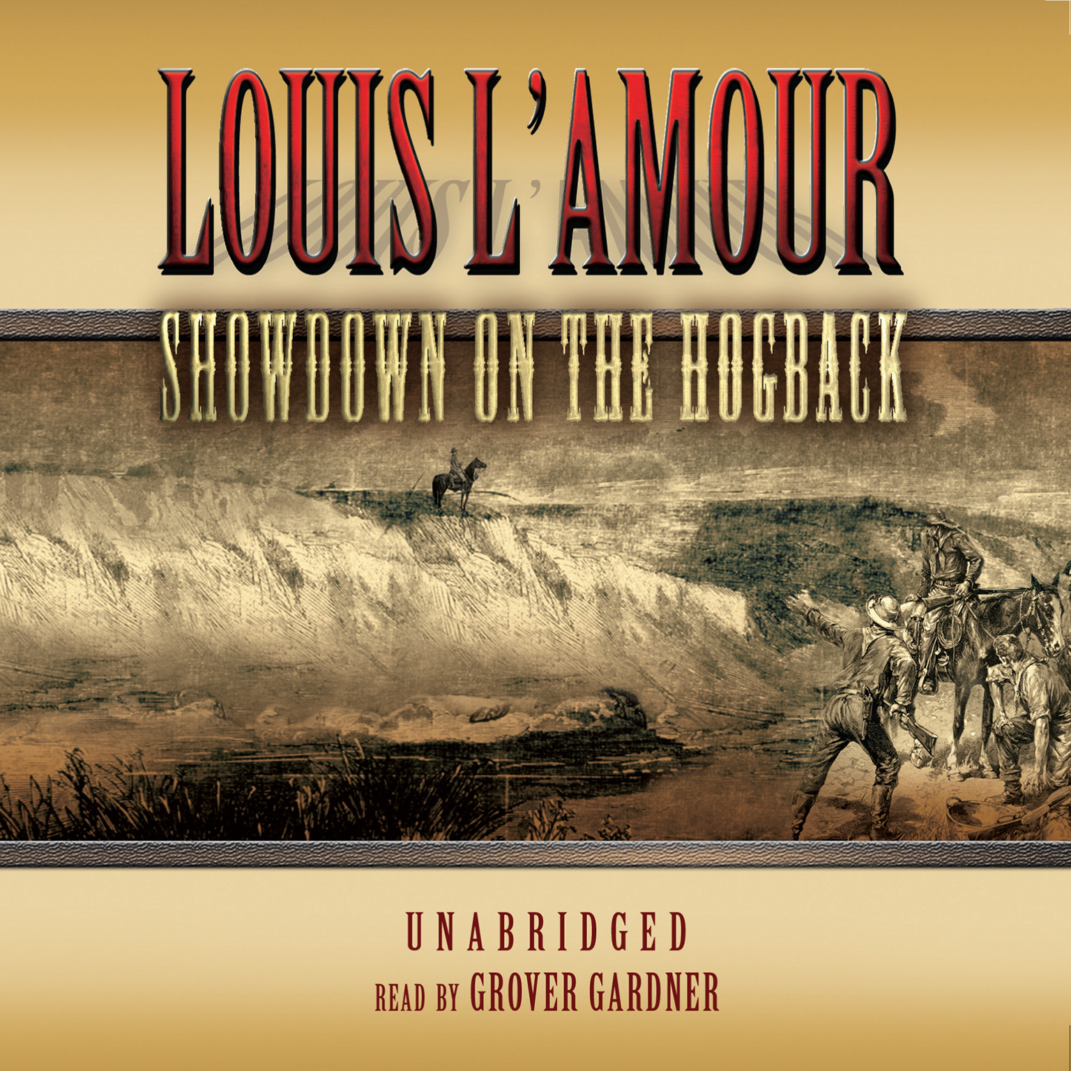 Printable Showdown on the Hogback Audiobook Cover Art
