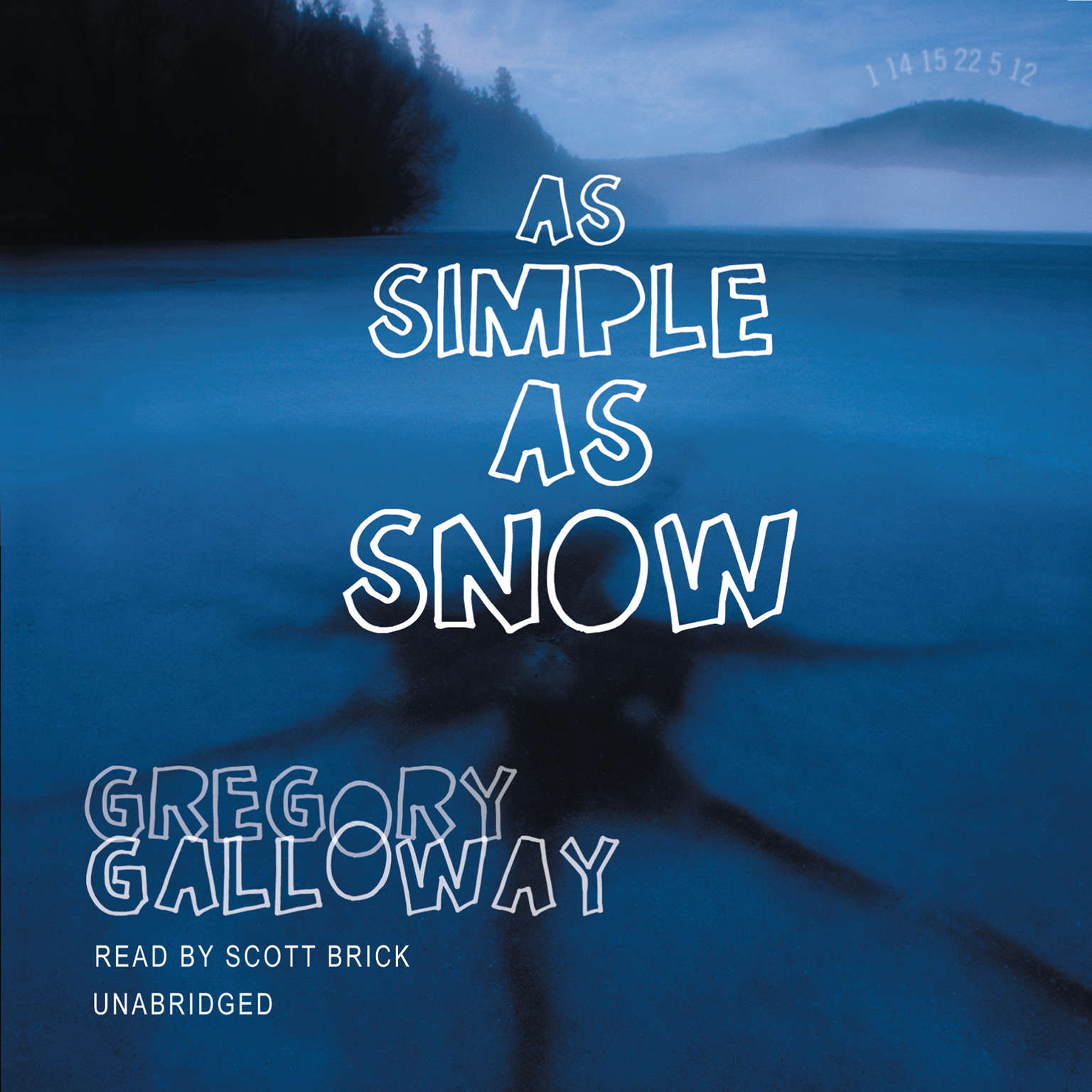 Printable As Simple as Snow Audiobook Cover Art