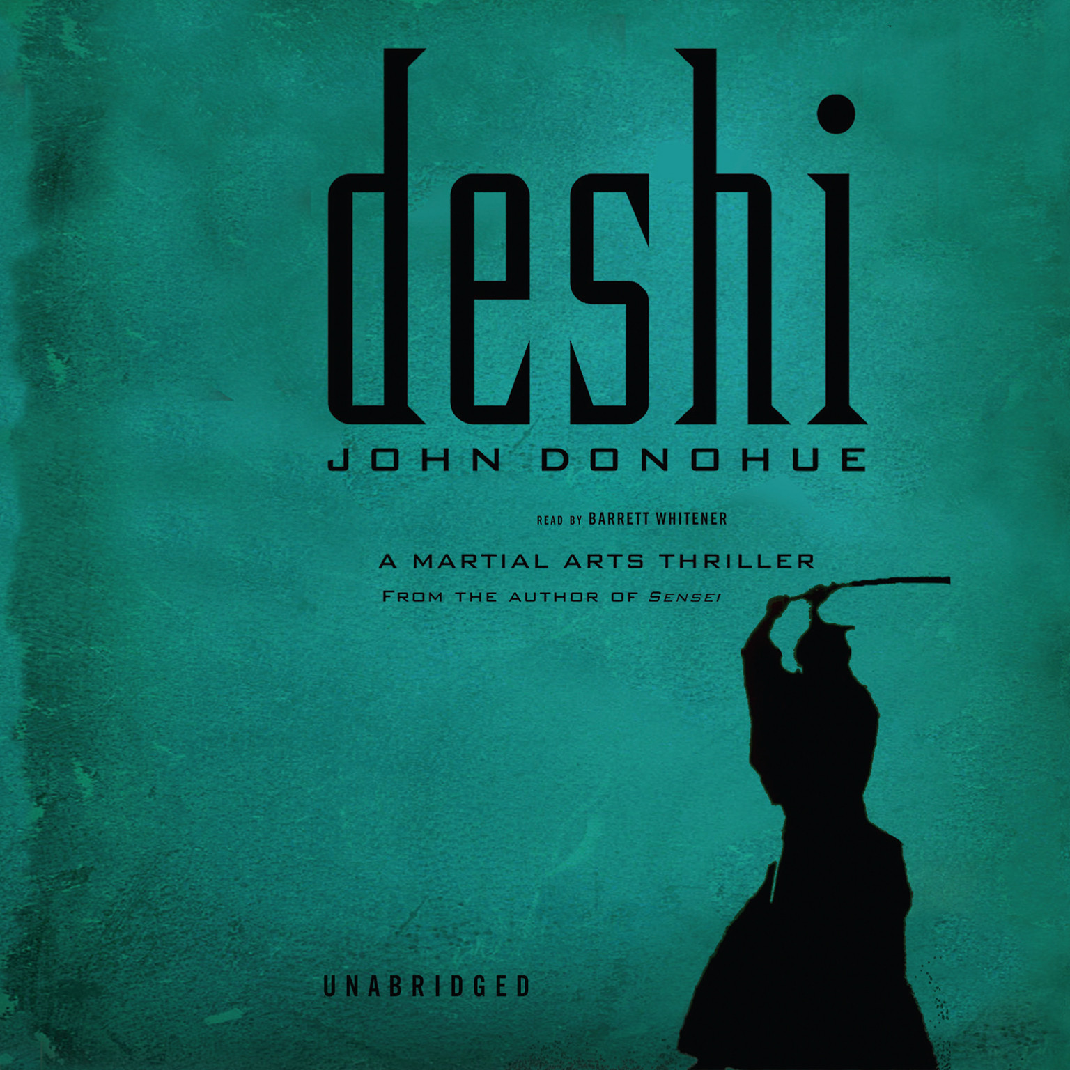 Printable Deshi: A Martial Arts Thriller Audiobook Cover Art