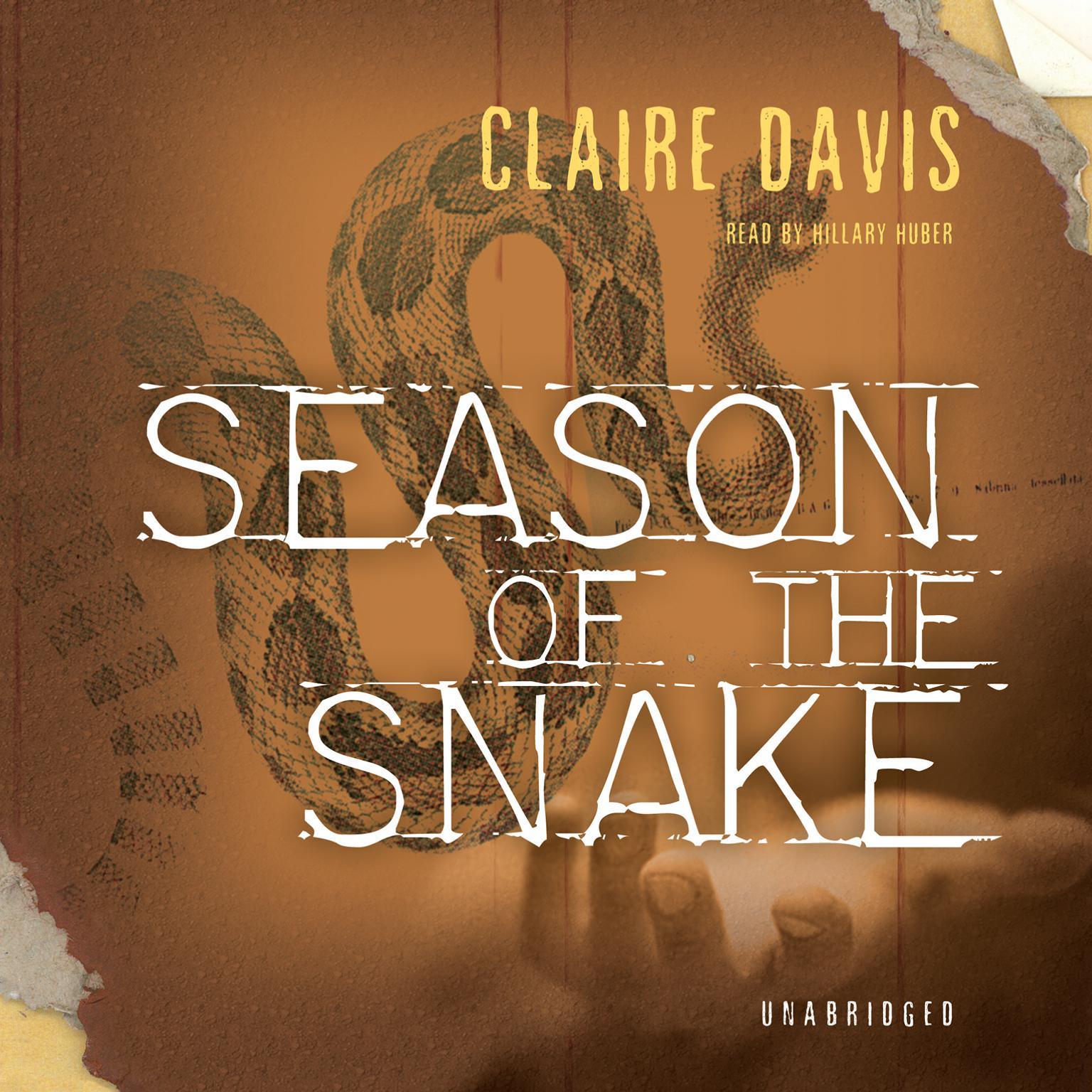 Printable Season of the Snake Audiobook Cover Art