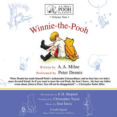 Winnie-the-Pooh Audiobook, by A. A. Milne