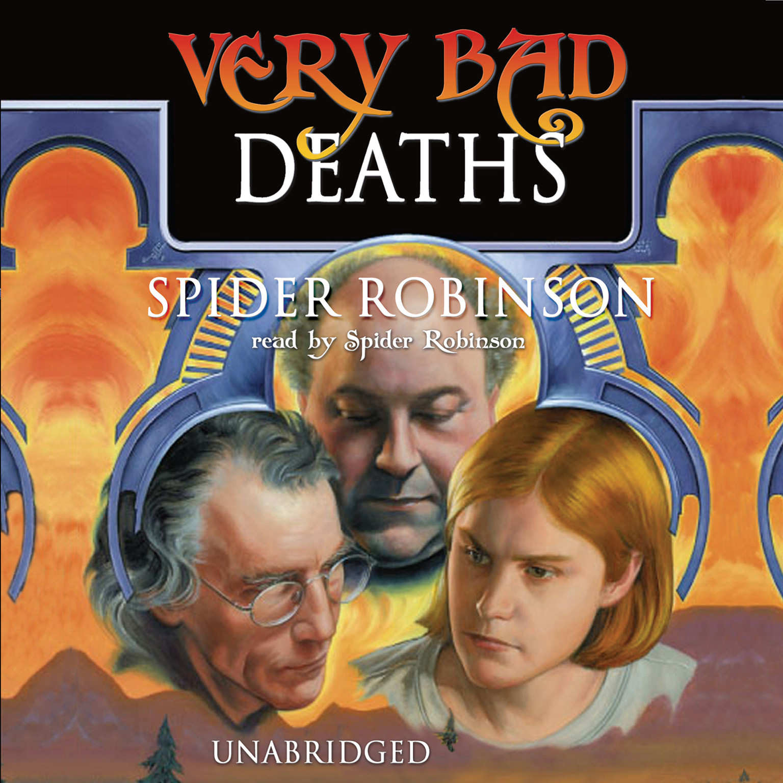 Printable Very Bad Deaths Audiobook Cover Art