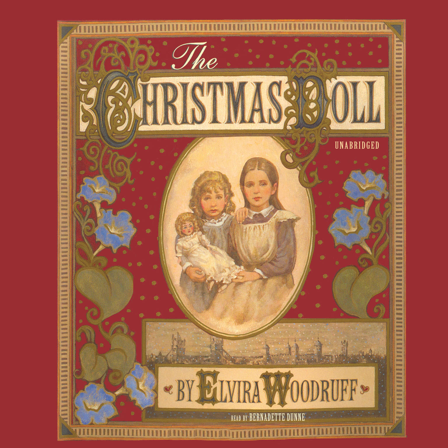 Printable The Christmas Doll Audiobook Cover Art