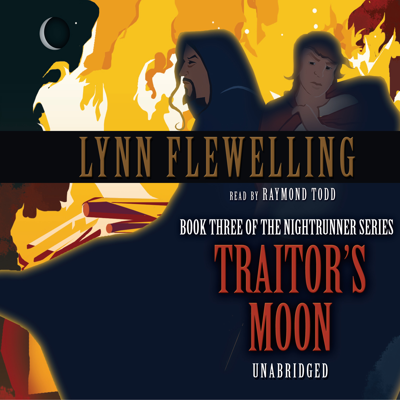 Printable Traitor's Moon Audiobook Cover Art
