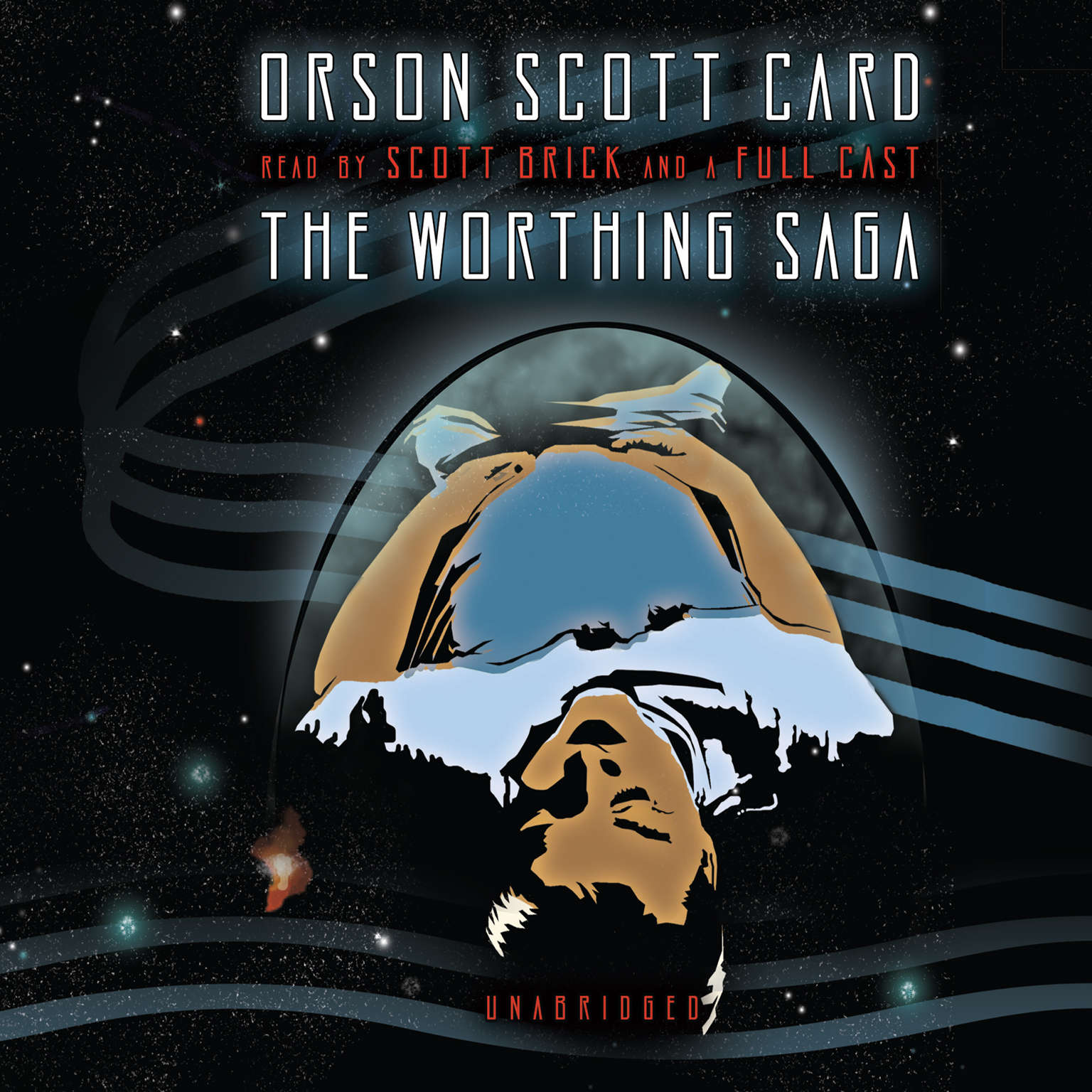 Printable The Worthing Saga Audiobook Cover Art