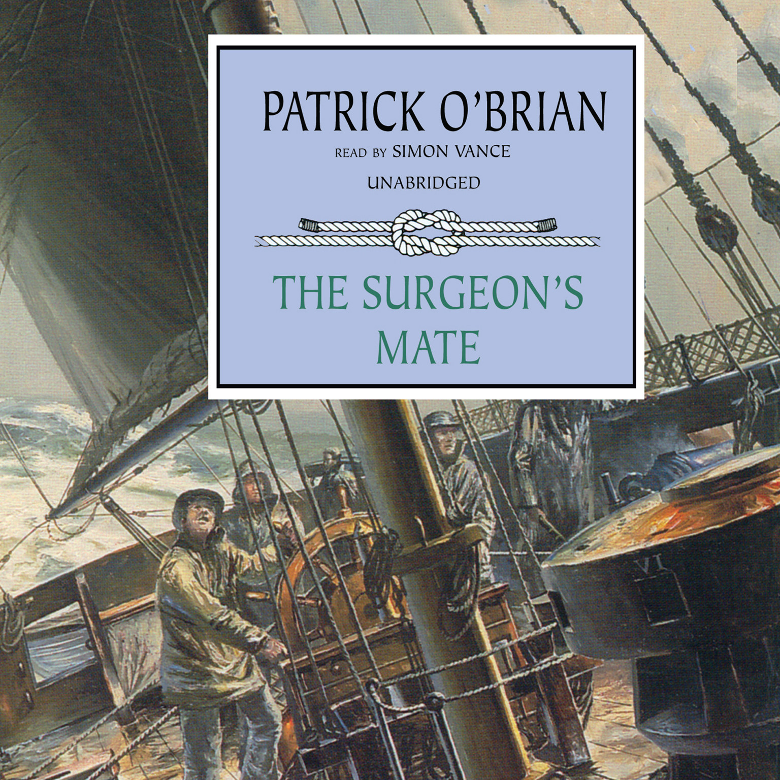 Printable The Surgeon's Mate Audiobook Cover Art