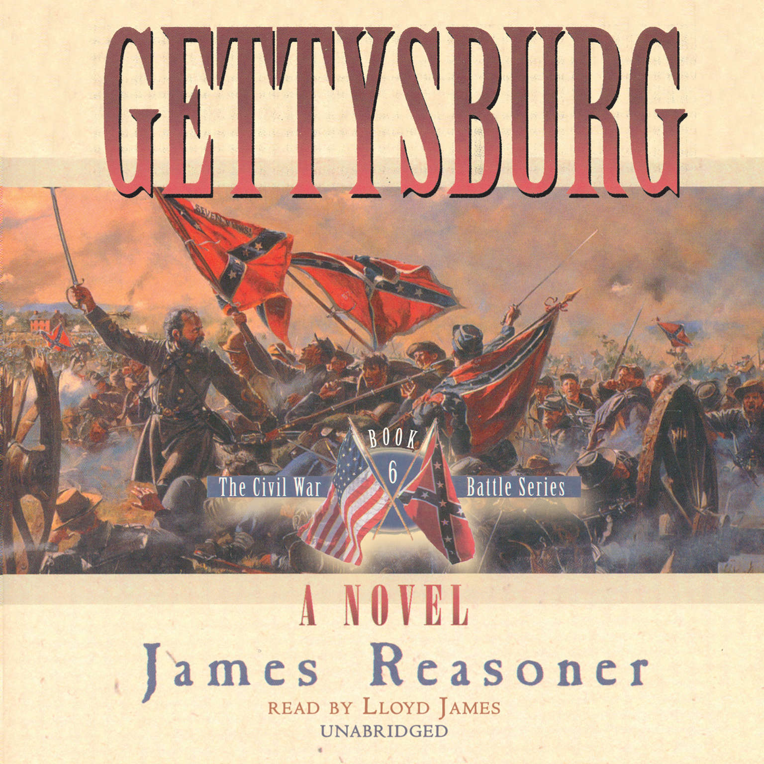 Printable Gettysburg Audiobook Cover Art