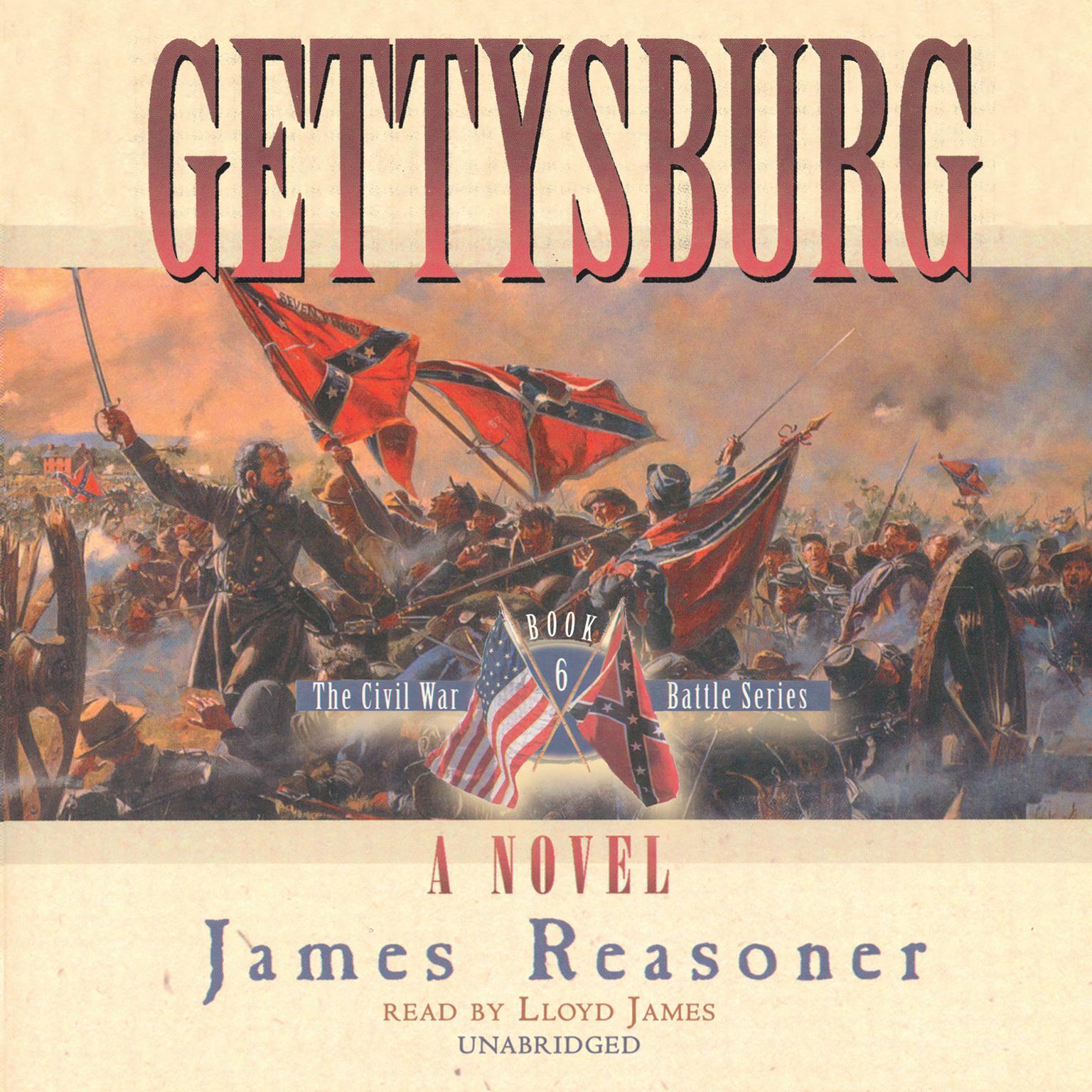 Gettysburg Audiobook, by James Reasoner