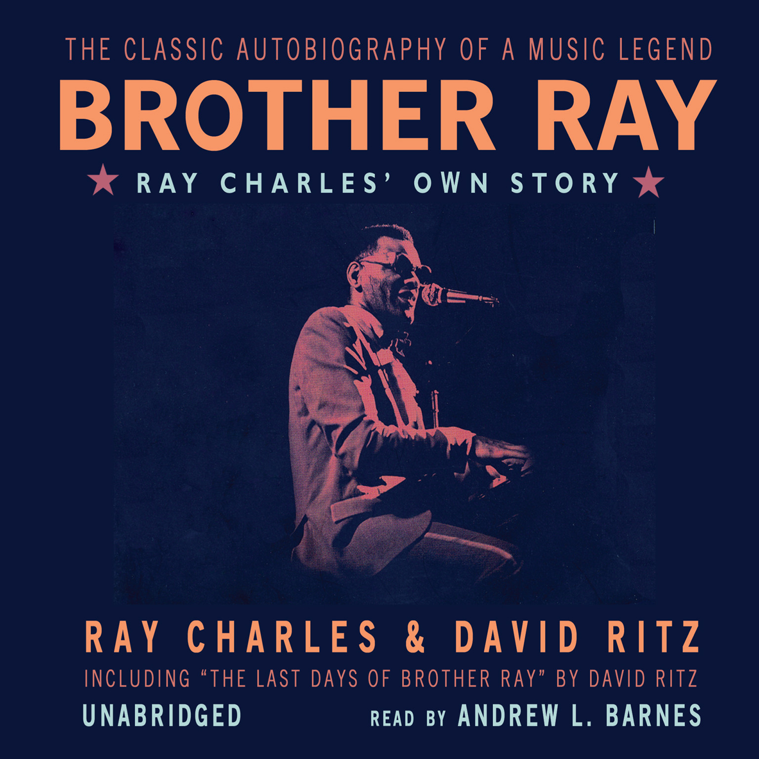 Printable Brother Ray: Ray Charles' Own Story Audiobook Cover Art