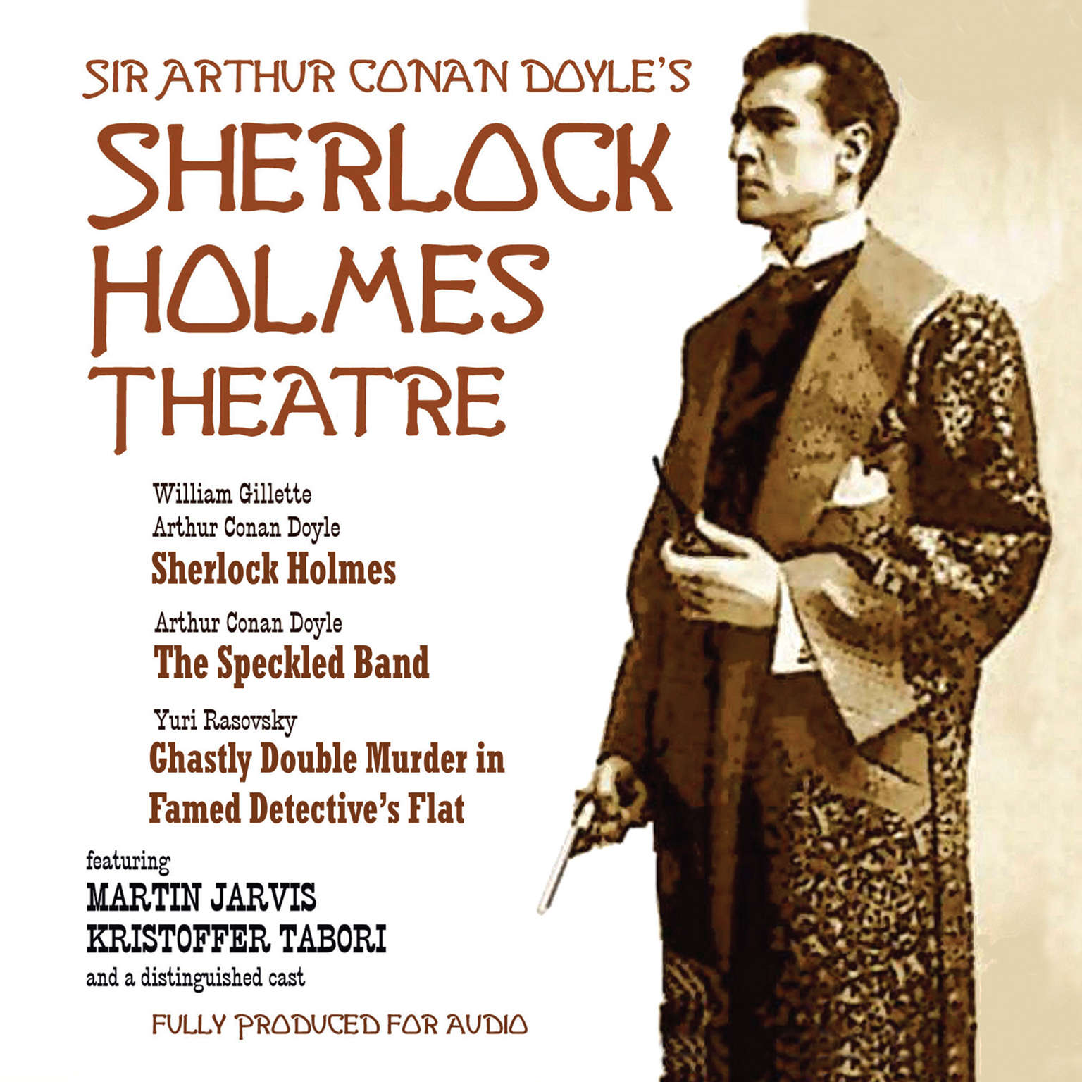 Printable Sherlock Holmes Theatre Audiobook Cover Art