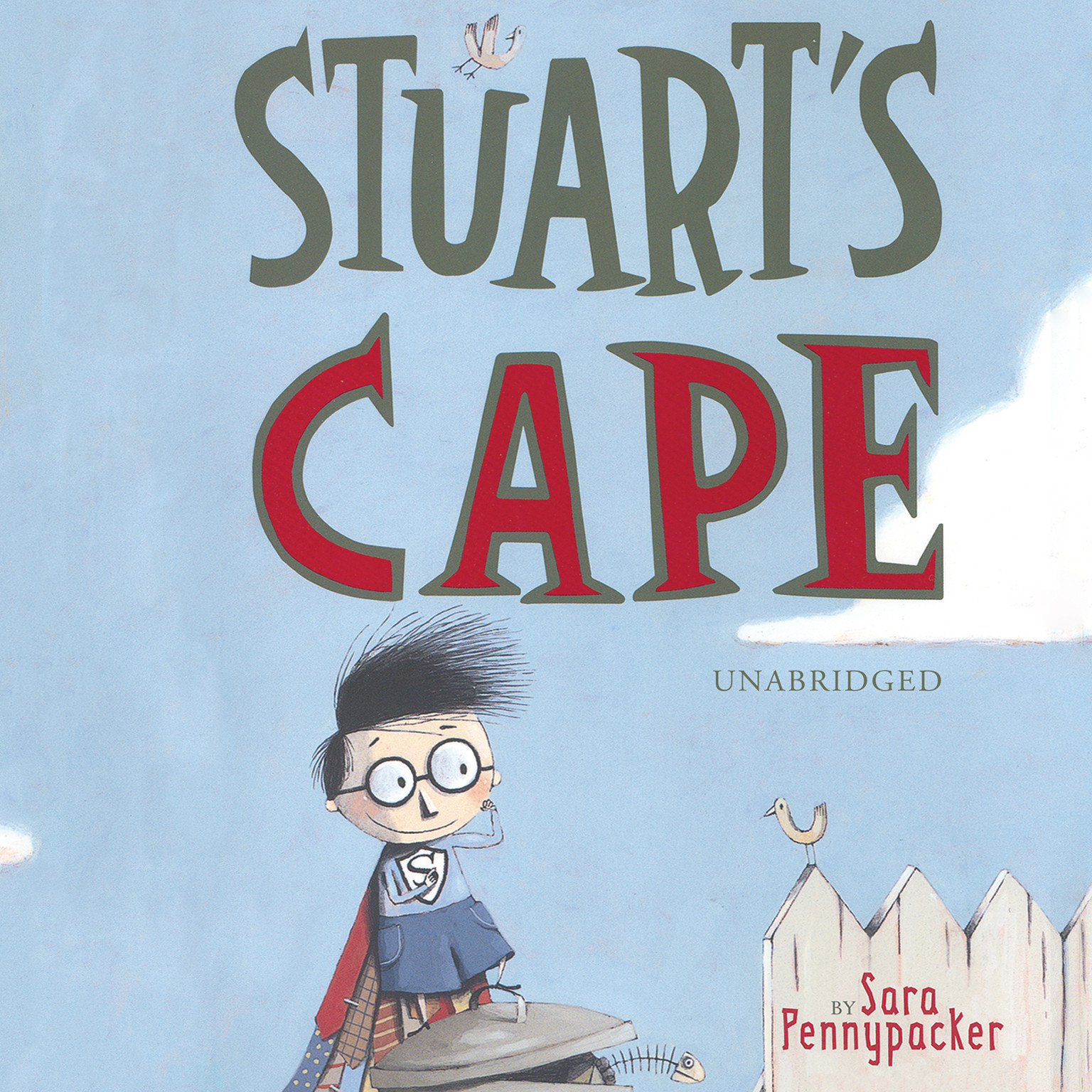 Printable Stuart's Cape Audiobook Cover Art