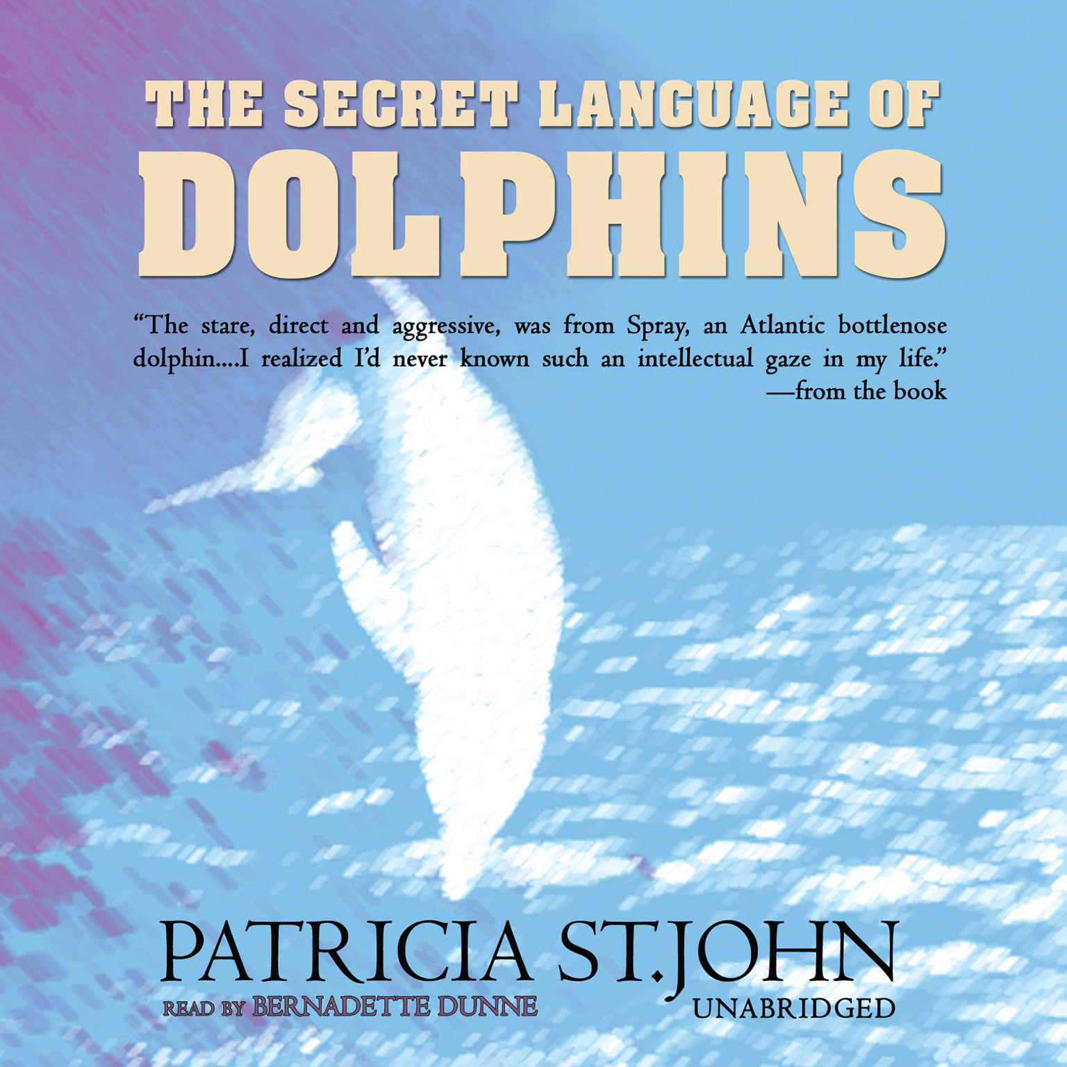 Printable The Secret Language of Dolphins Audiobook Cover Art