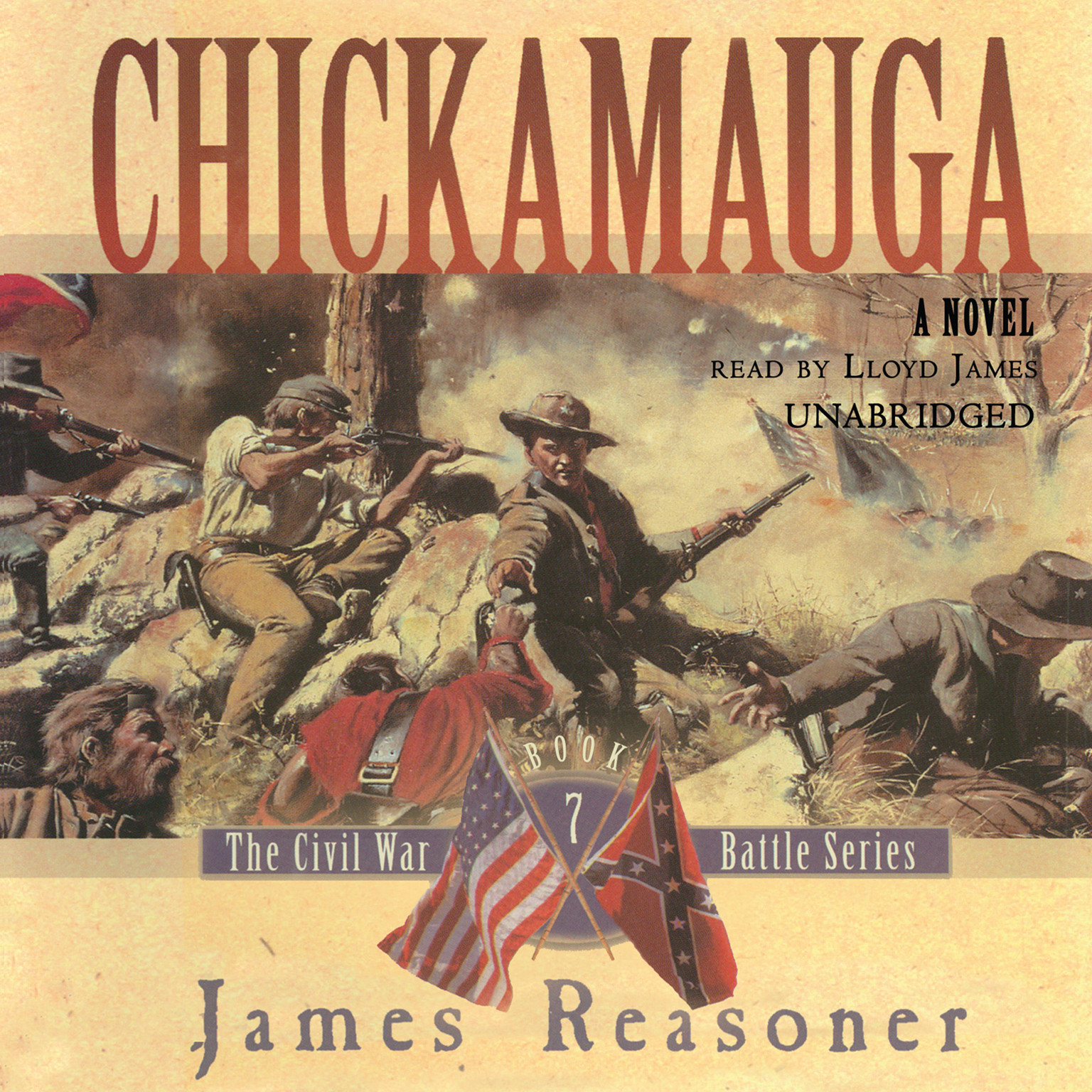 Printable Chickamauga Audiobook Cover Art