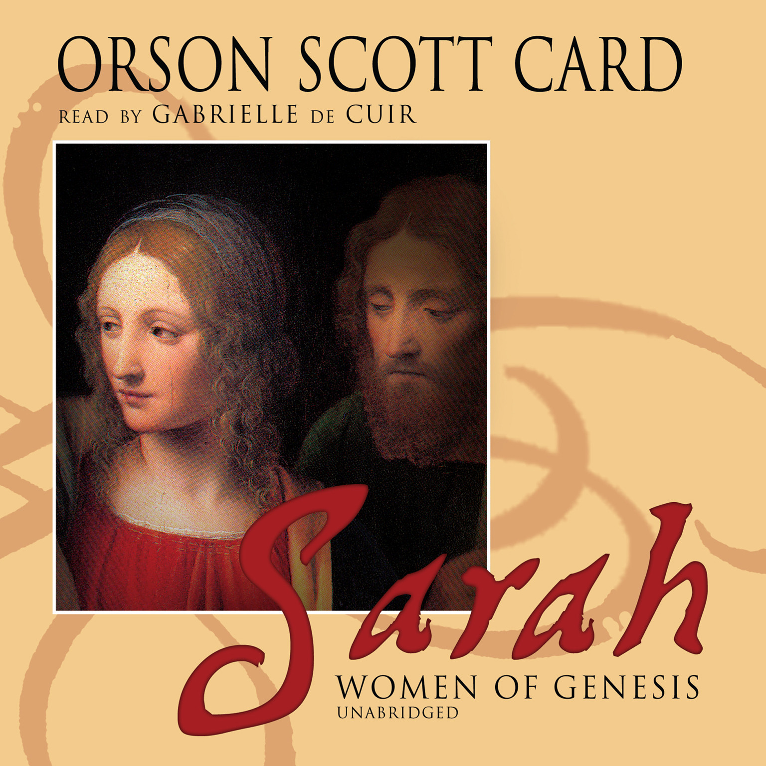 Printable Sarah Audiobook Cover Art