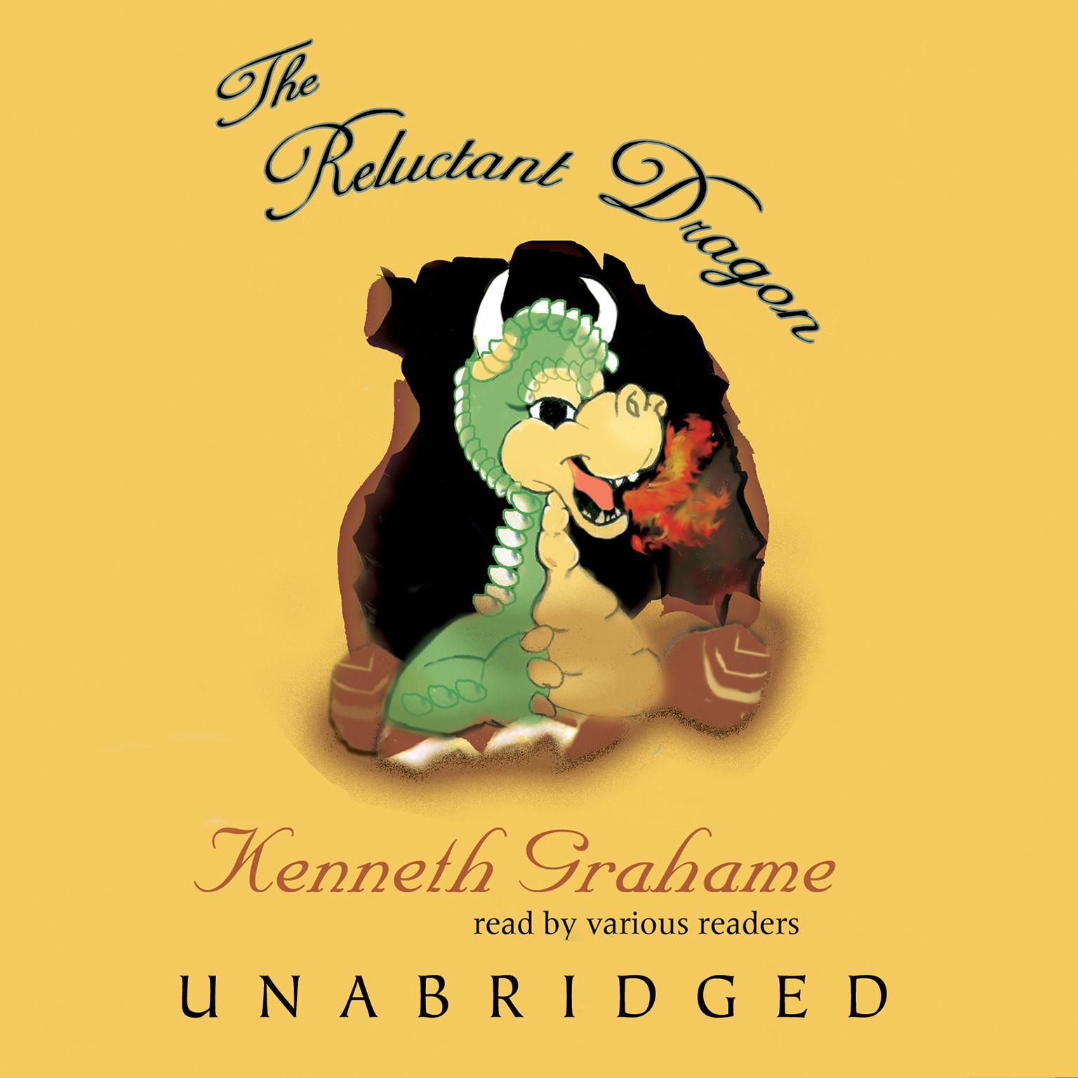 Printable The Reluctant Dragon Audiobook Cover Art