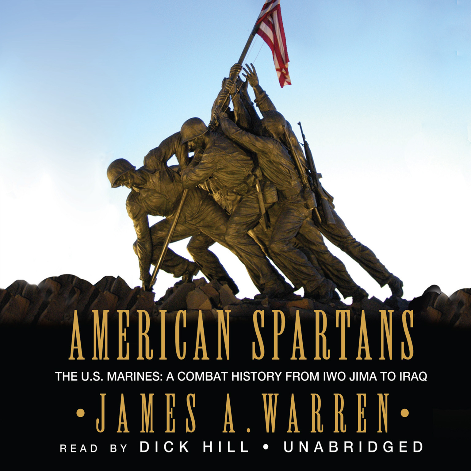 Printable American Spartans: The US Marines: A Combat History from Iwo Jima to Iraq Audiobook Cover Art