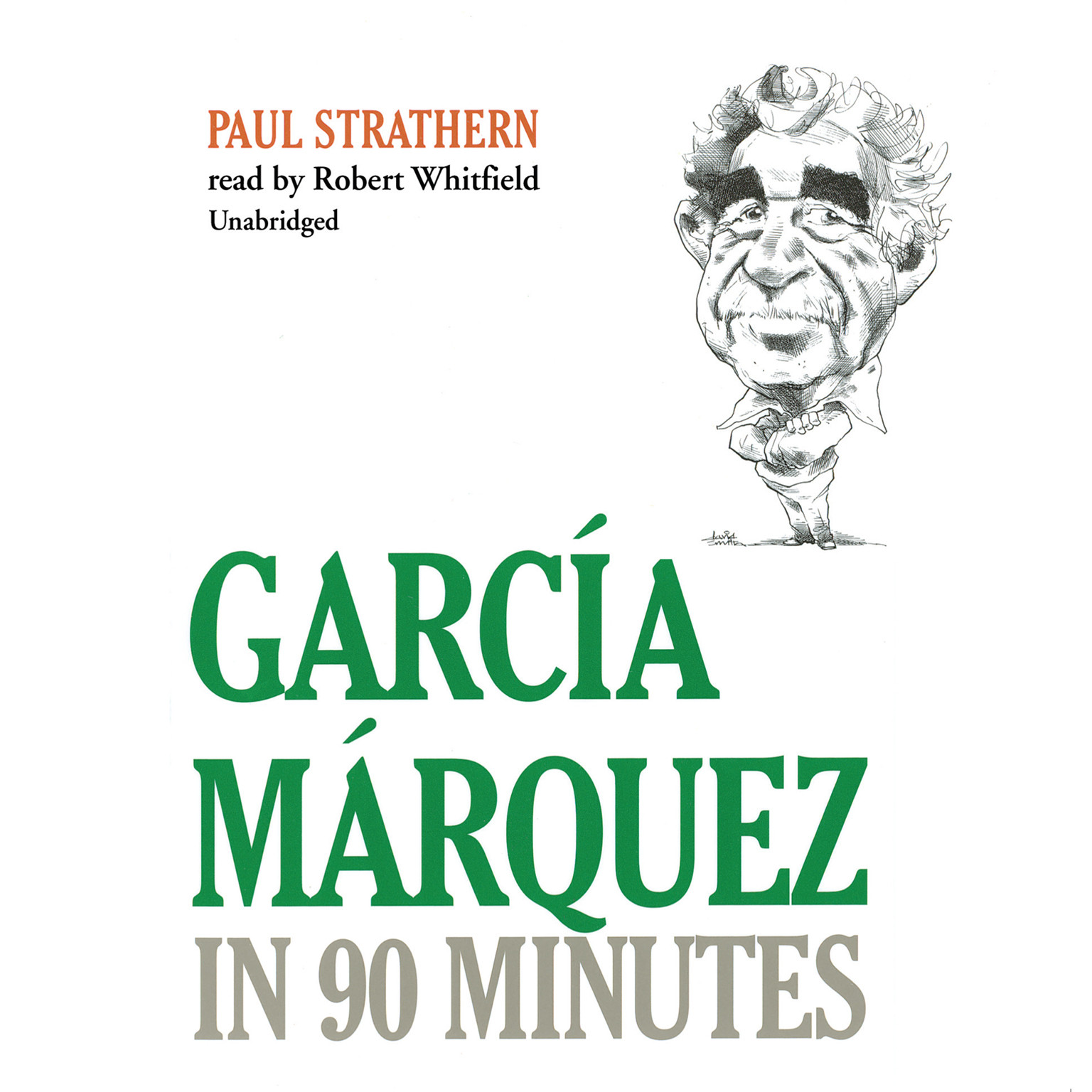 Printable García Márquez in 90 Minutes Audiobook Cover Art