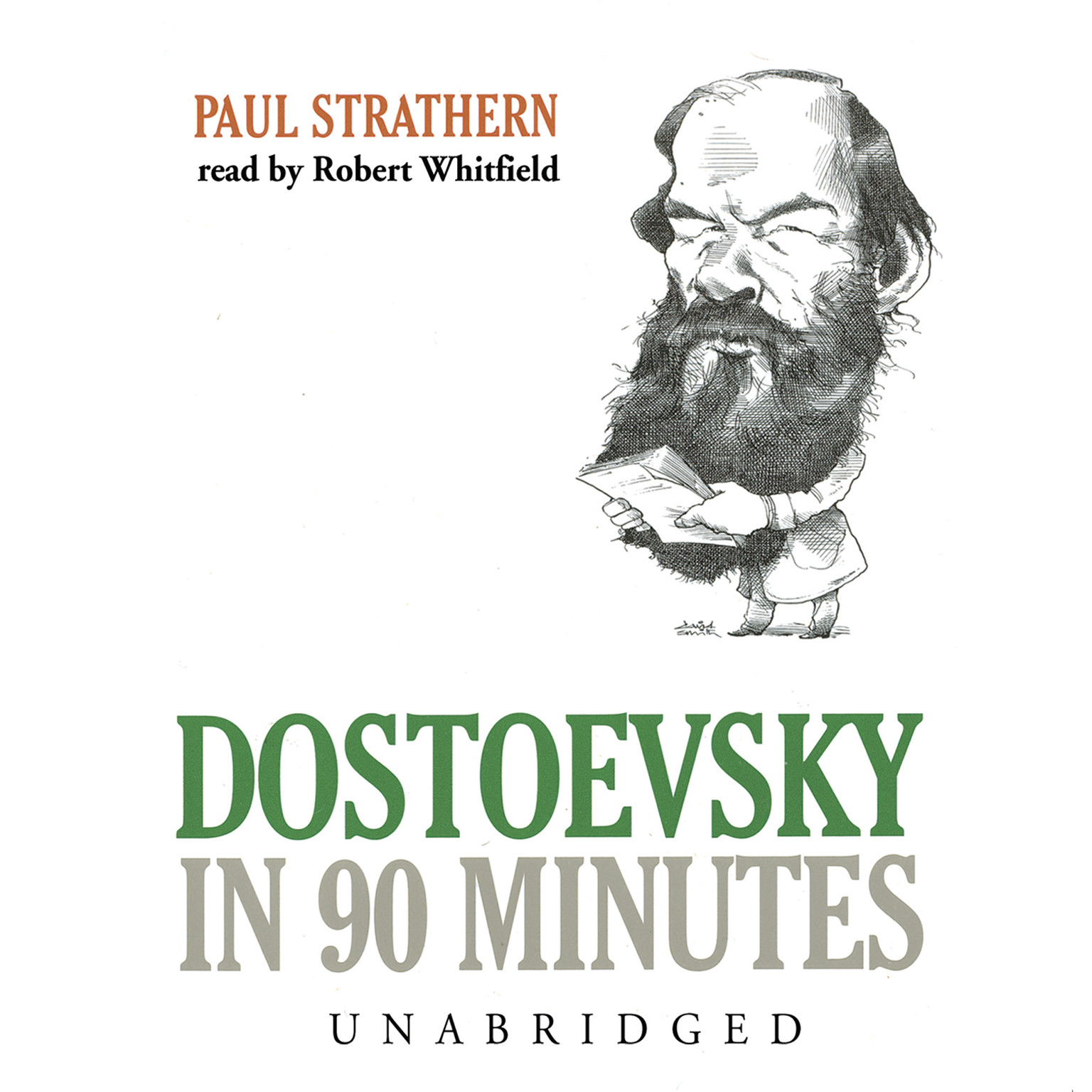 Printable Dostoevsky in 90 Minutes Audiobook Cover Art