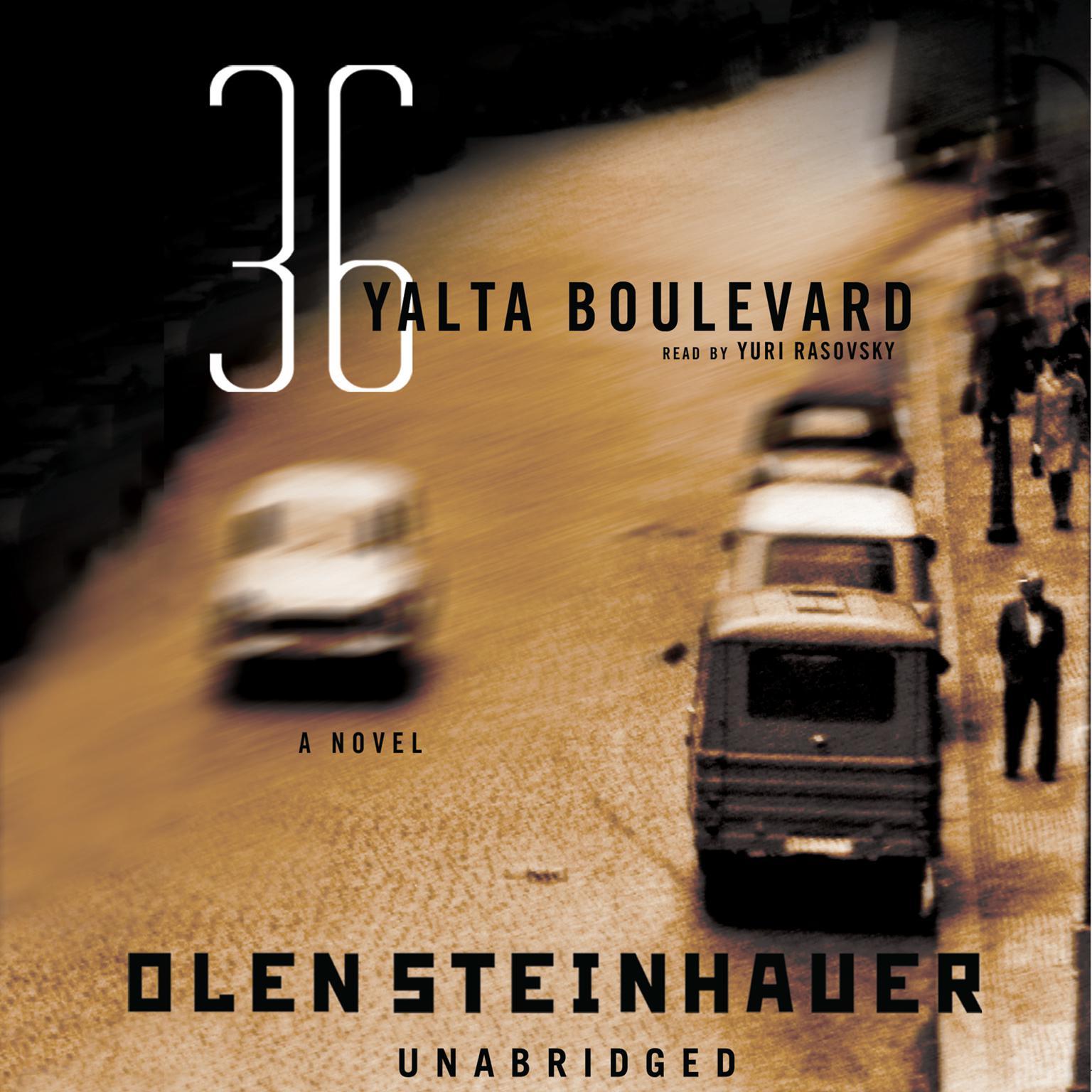 Printable 36 Yalta Boulevard: A Novel Audiobook Cover Art