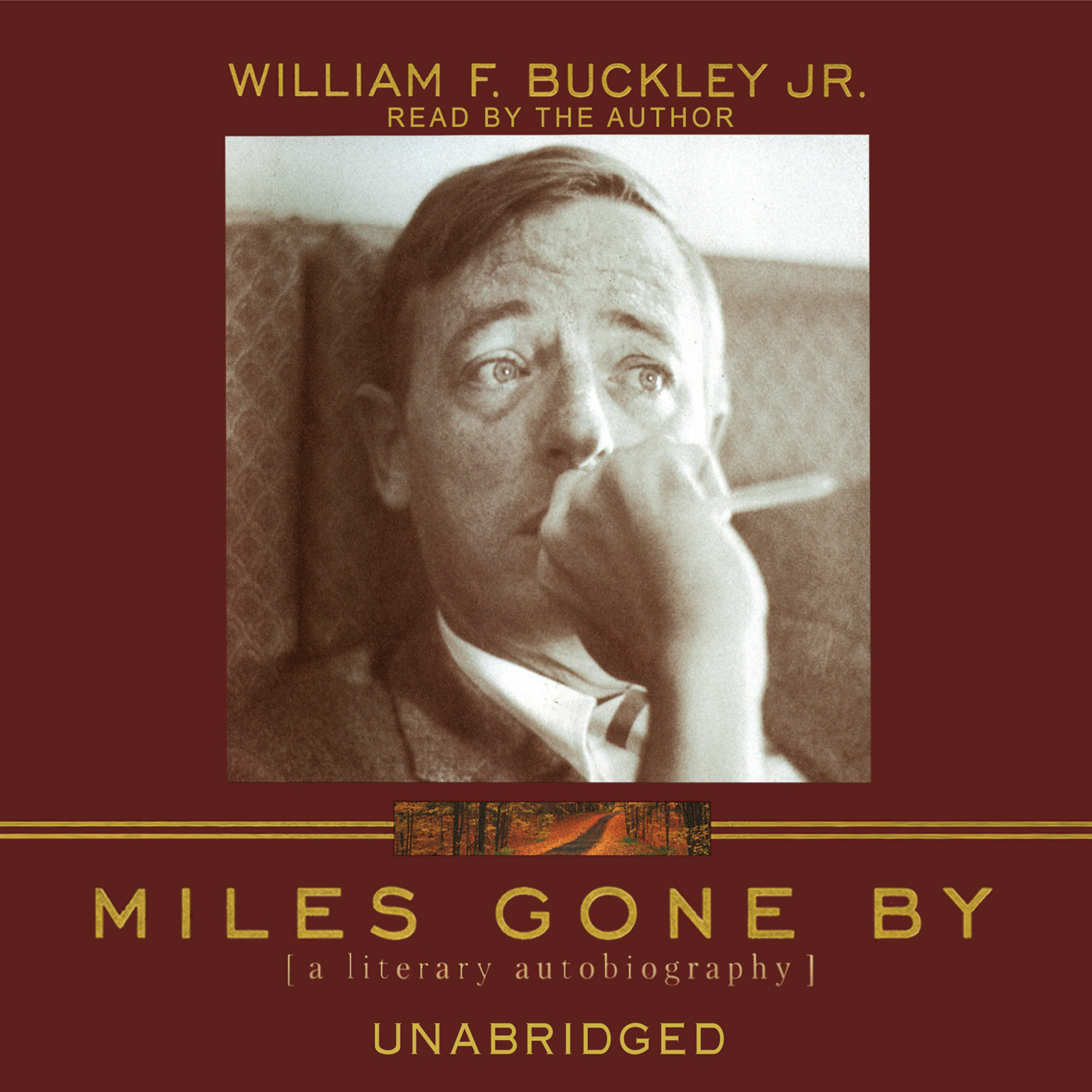 Printable Miles Gone By: A Literary Autobiography Audiobook Cover Art