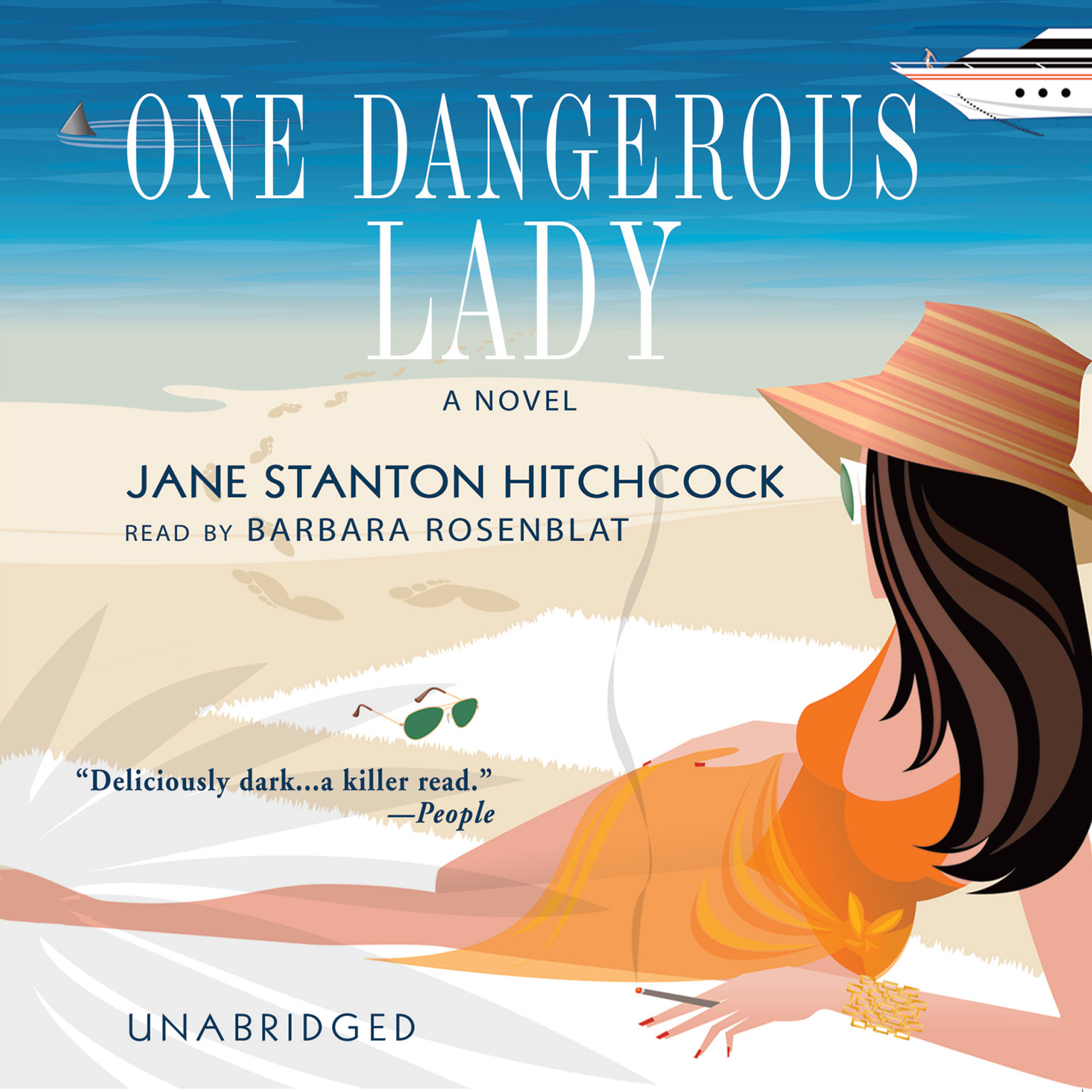 Printable One Dangerous Lady Audiobook Cover Art