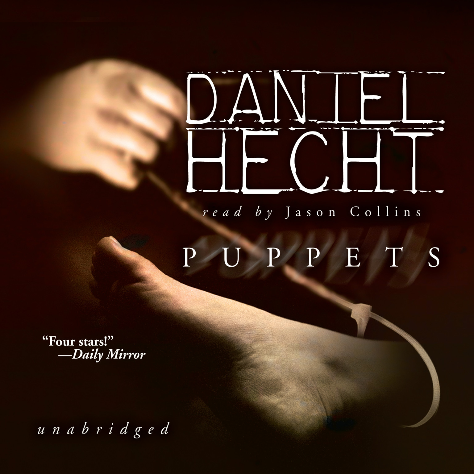 Printable Puppets Audiobook Cover Art