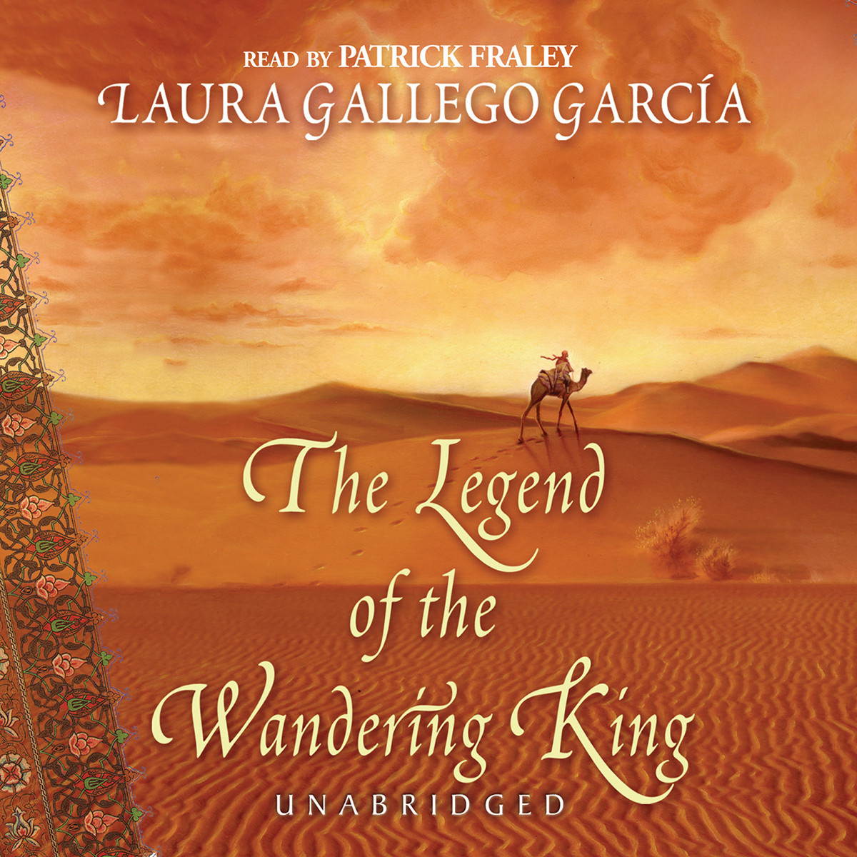 Printable The Legend of the Wandering King Audiobook Cover Art
