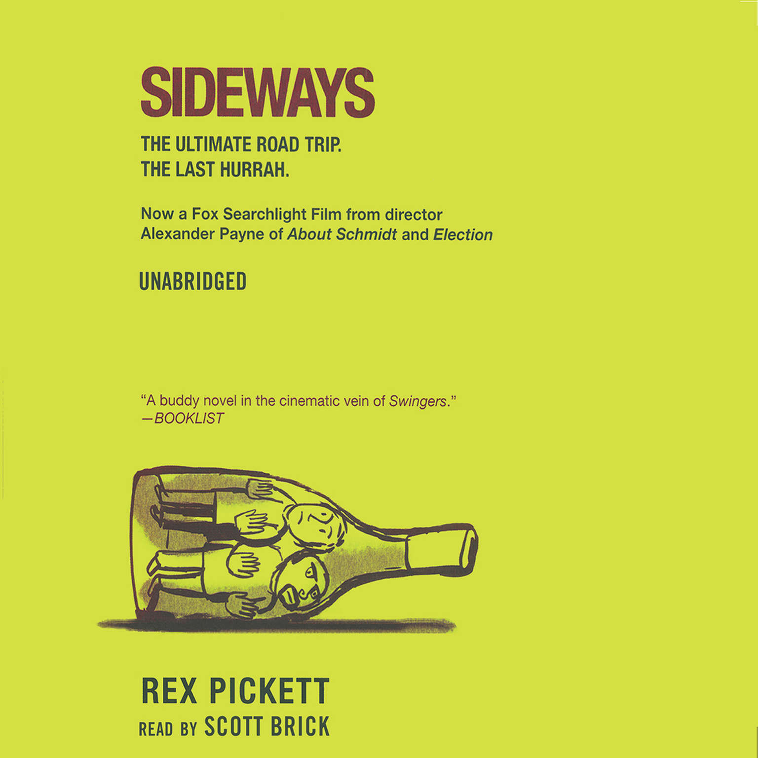 Printable Sideways: The Ultimate Road Trip Audiobook Cover Art
