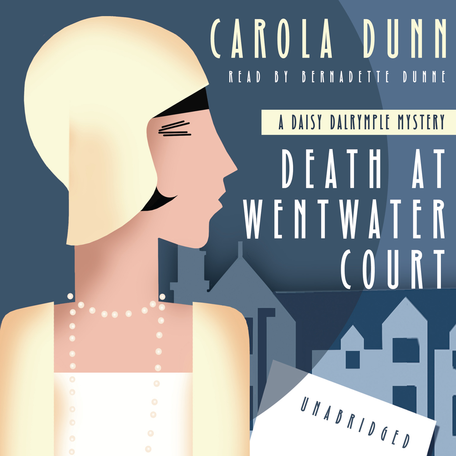 Printable Death at Wentwater Court: A Daisy Dalrymple Mystery Audiobook Cover Art