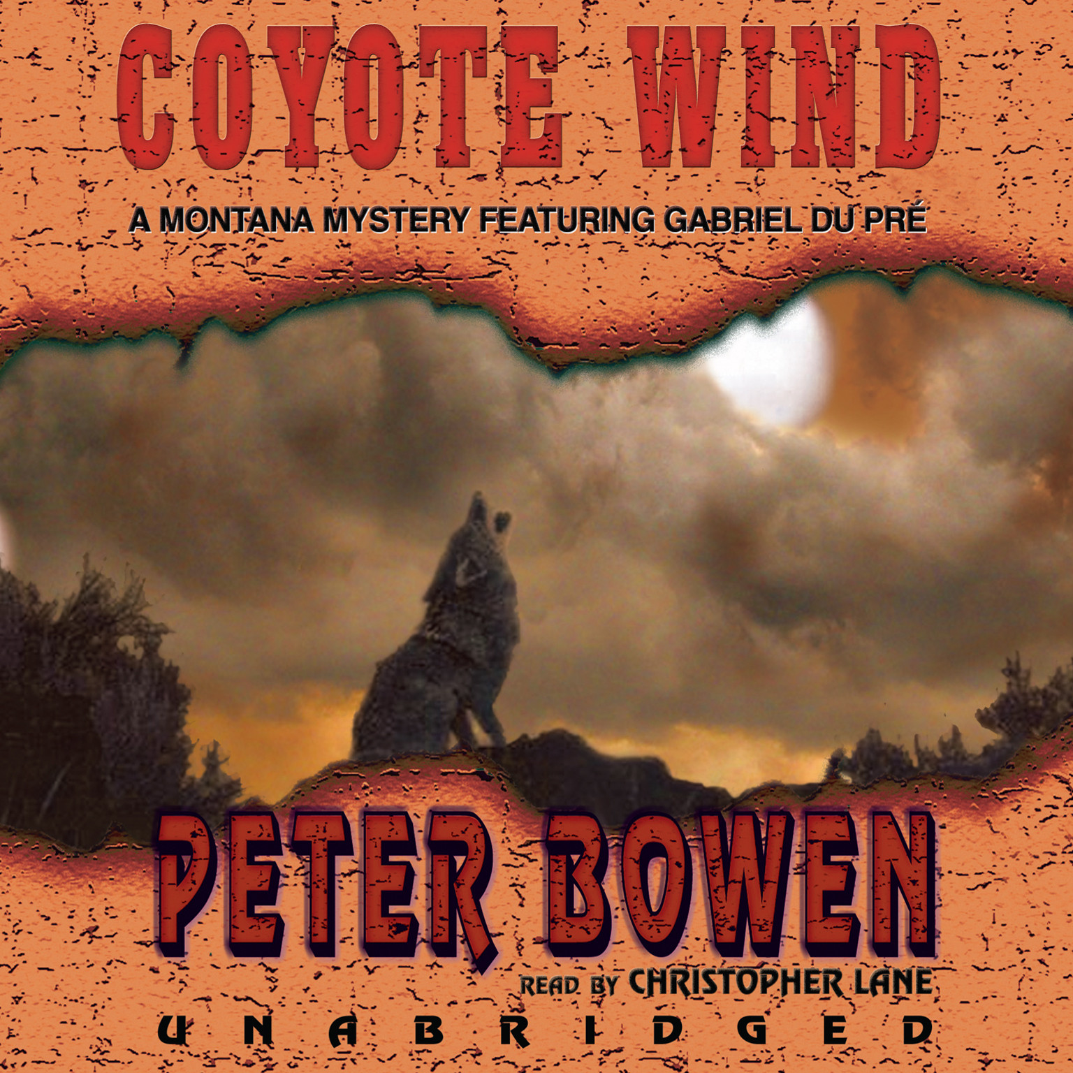 Printable Coyote Wind: A Gabriel Du Pré Mystery Audiobook Cover Art