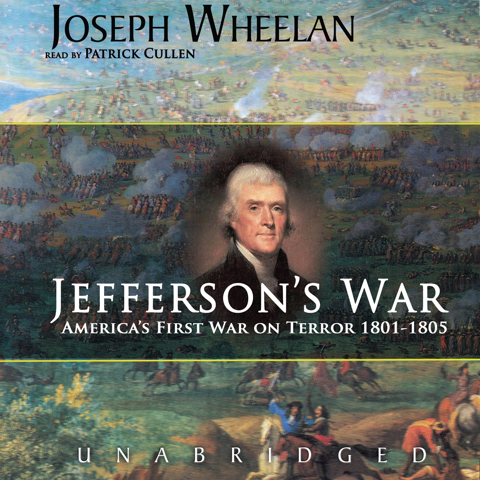 Printable Jefferson's War: America's First War on Terror 1801–1805 Audiobook Cover Art