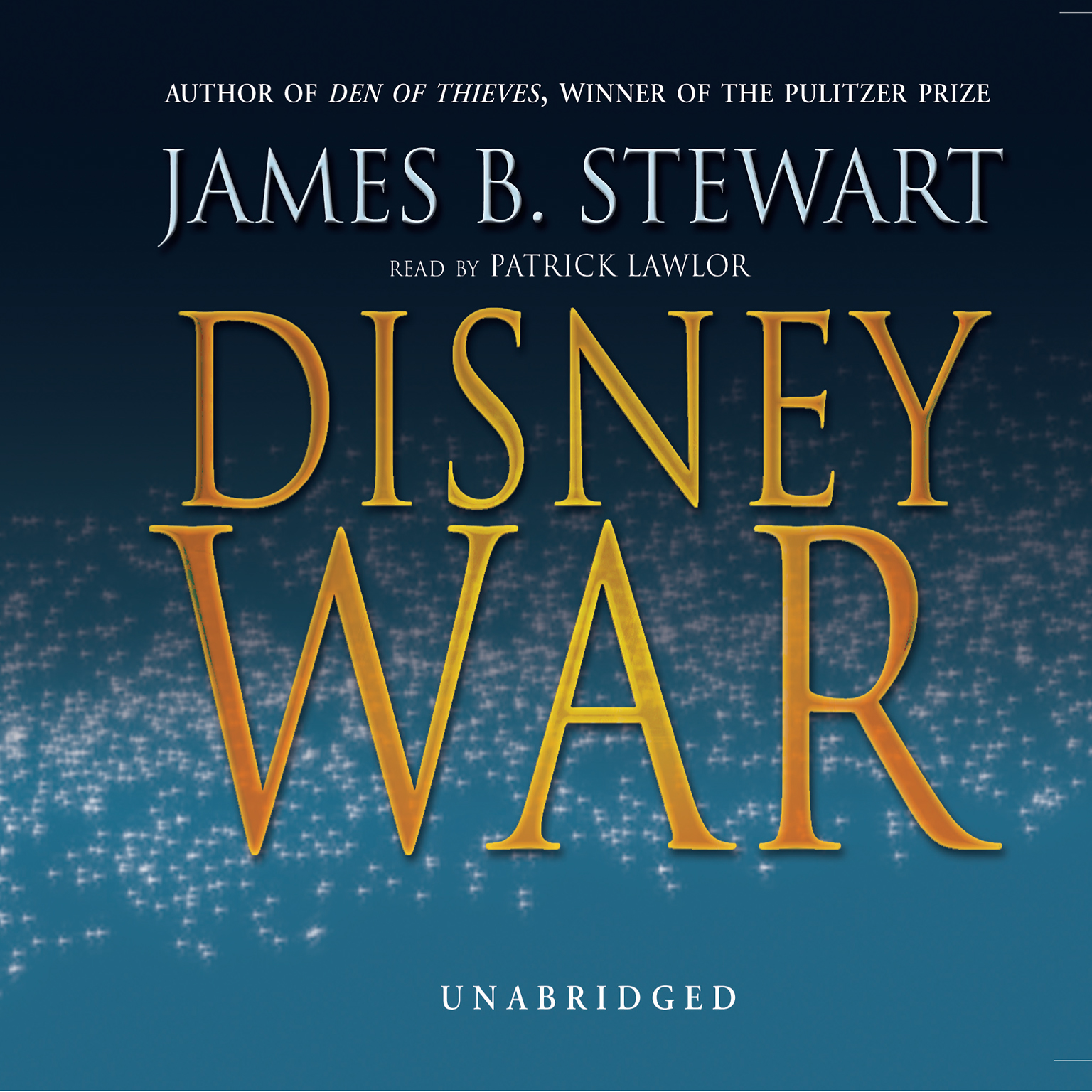 Printable DisneyWar Audiobook Cover Art
