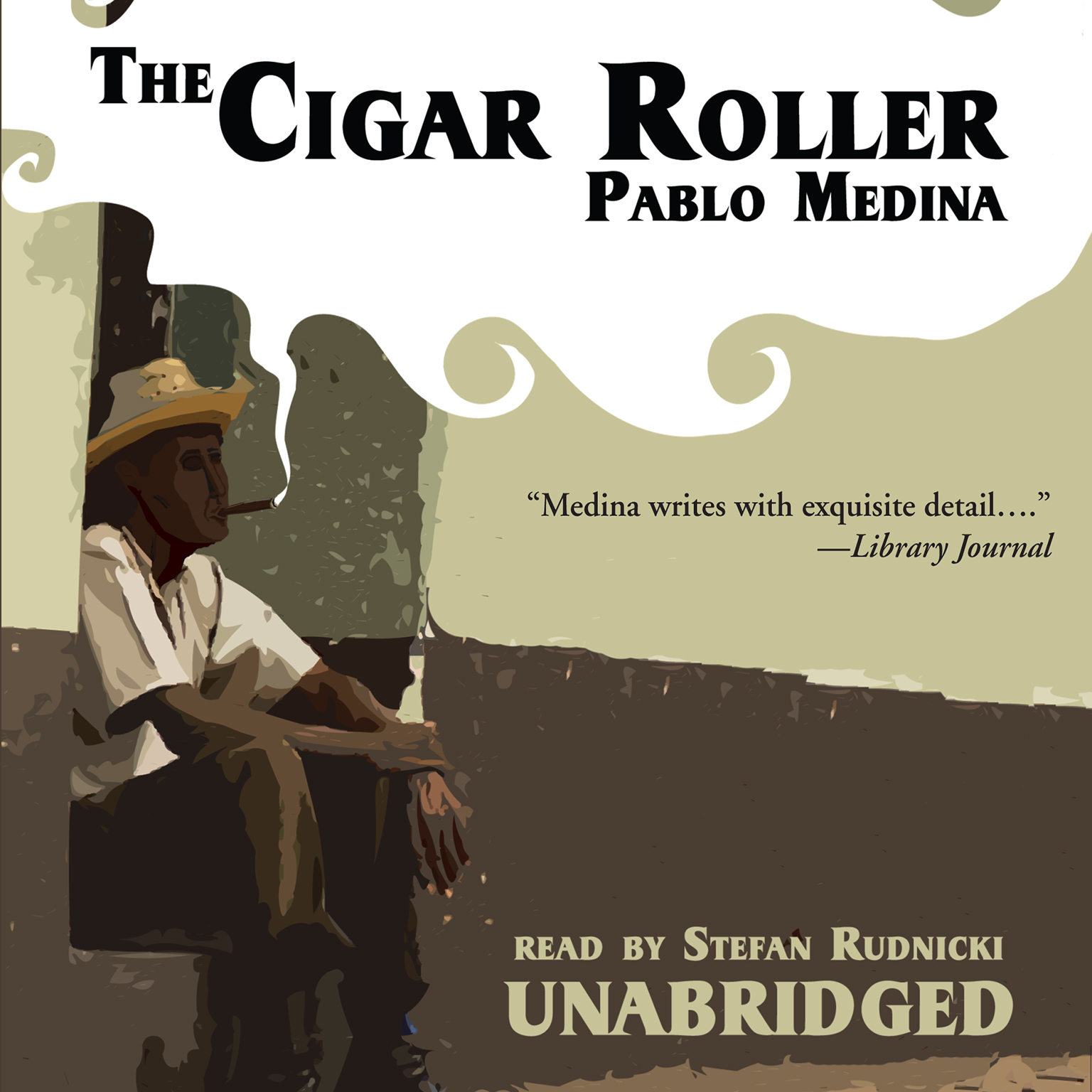 Printable The Cigar Roller Audiobook Cover Art