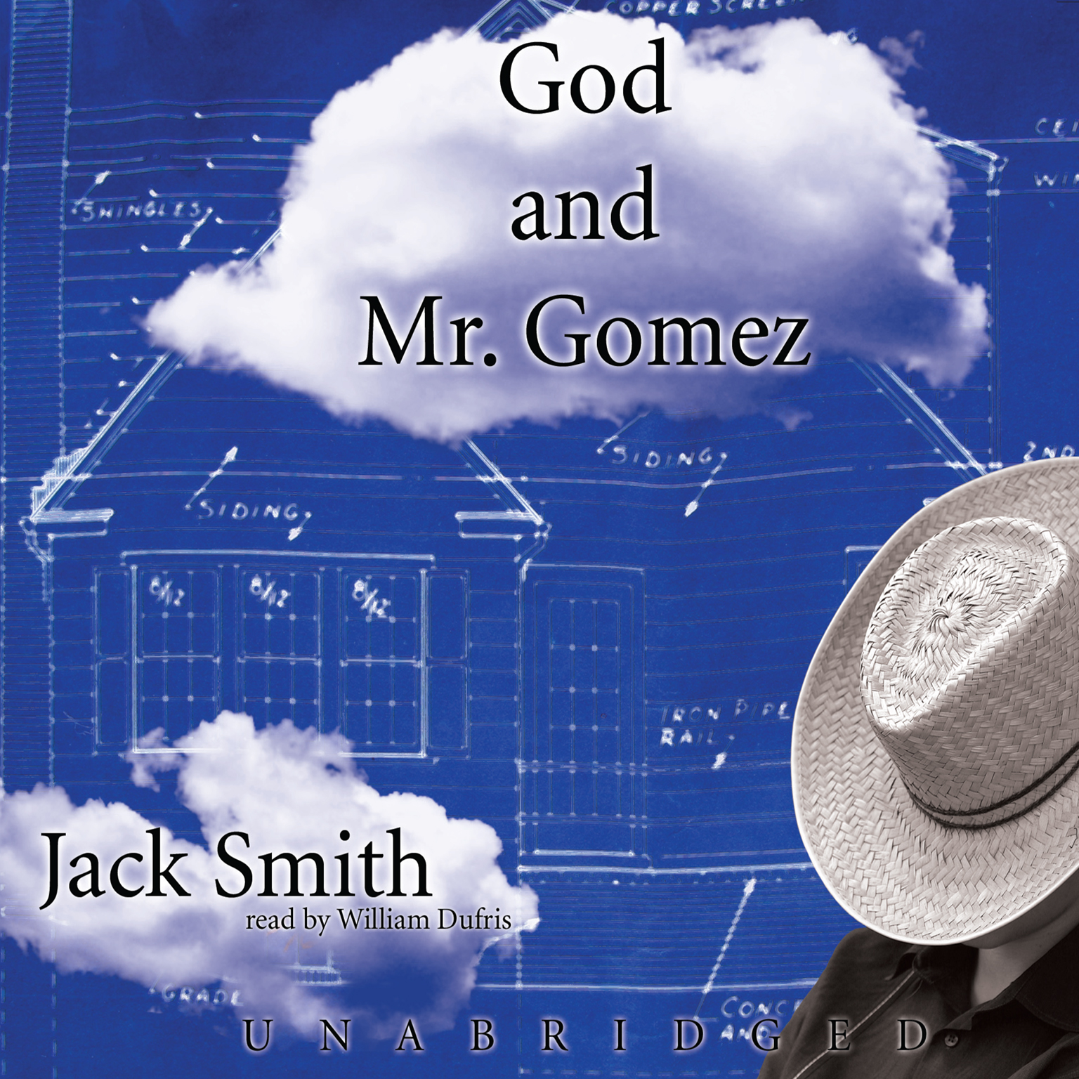 Printable God and Mr. Gomez Audiobook Cover Art