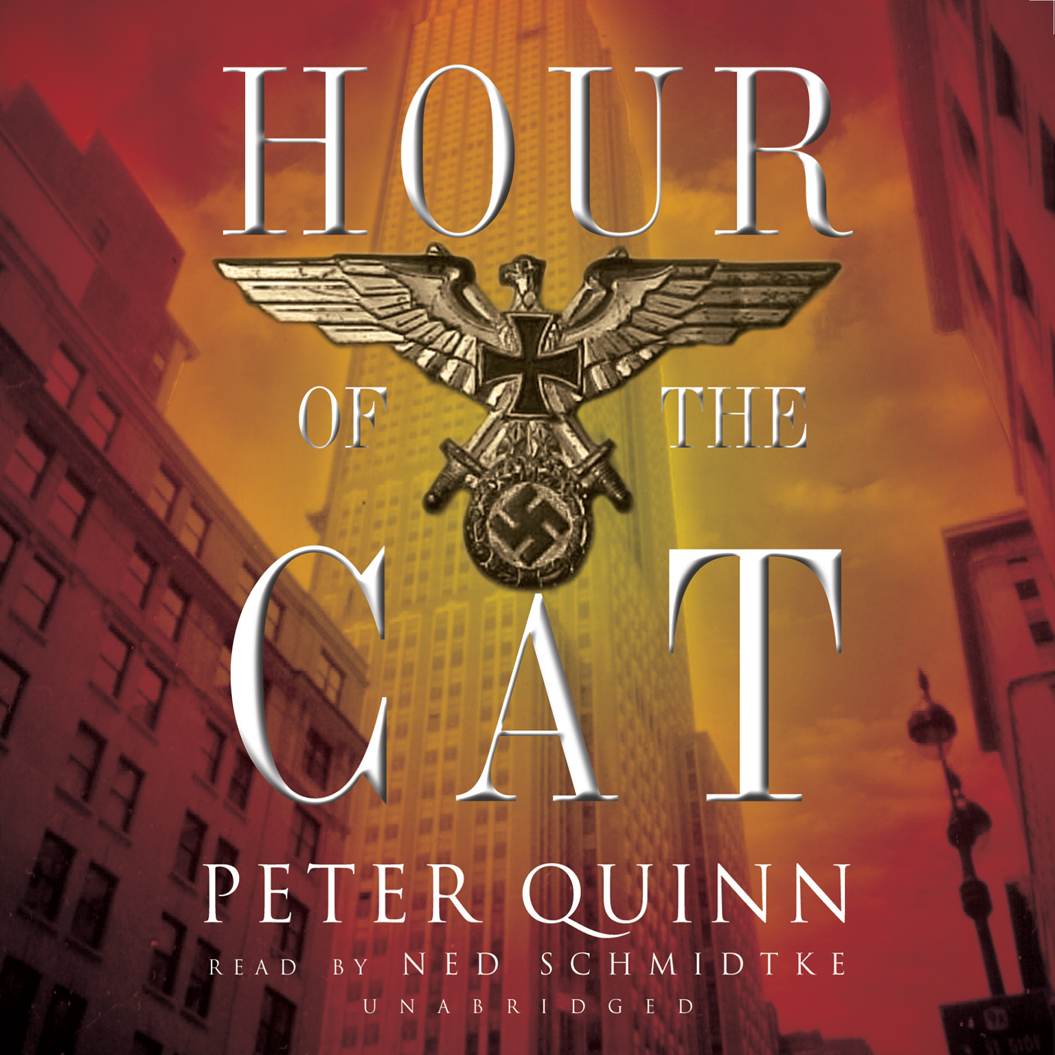 Printable Hour of the Cat Audiobook Cover Art