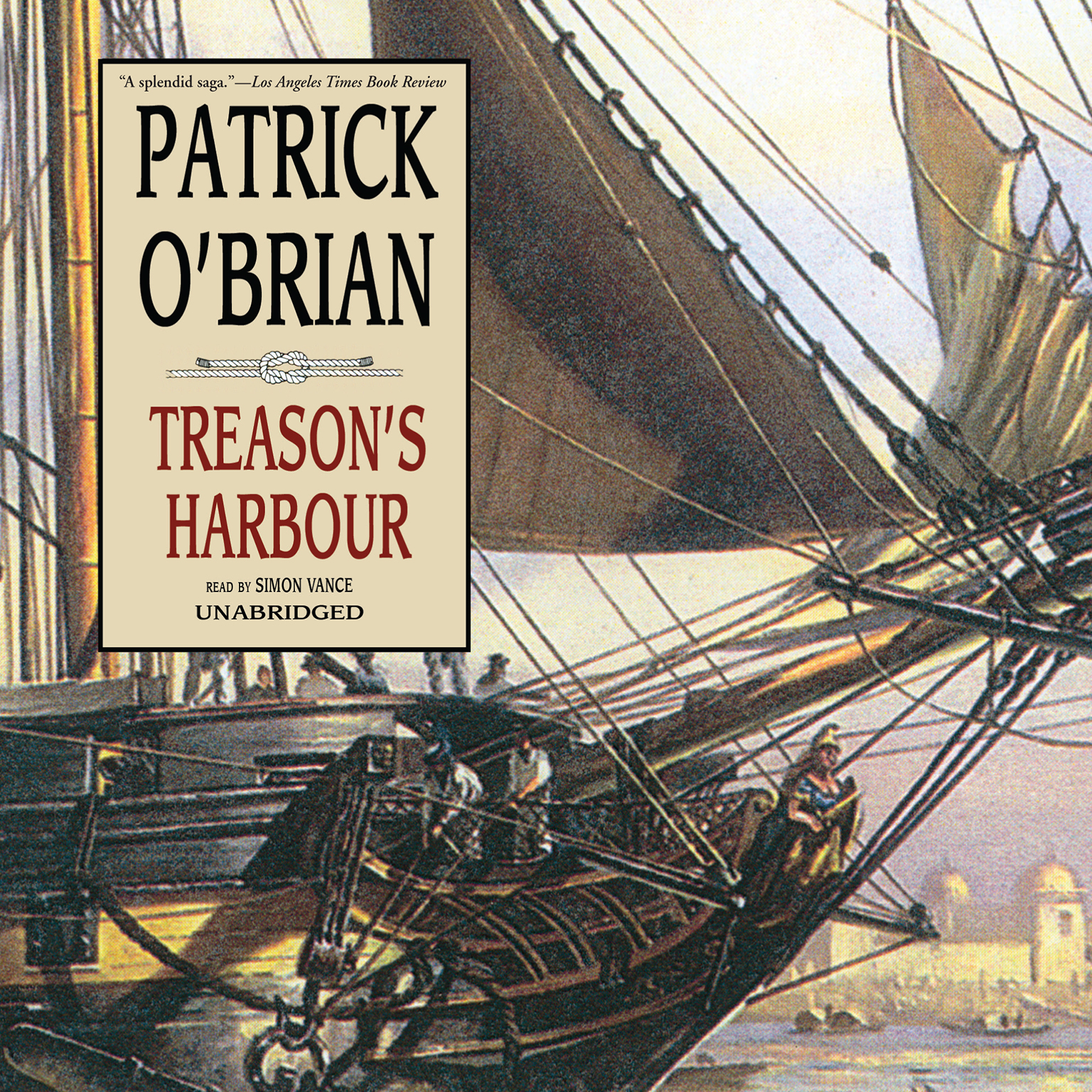 Printable Treason's Harbour Audiobook Cover Art