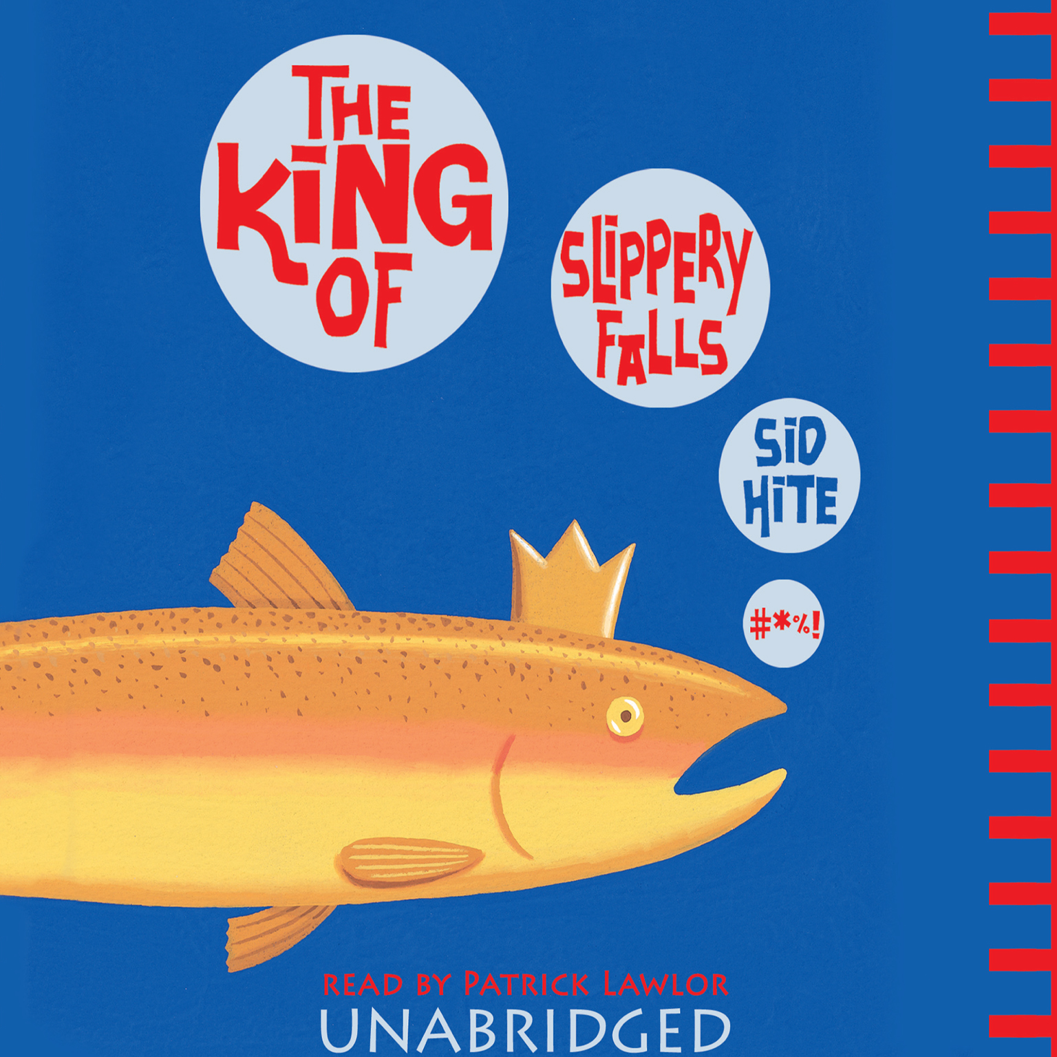 Printable The King of Slippery Falls Audiobook Cover Art