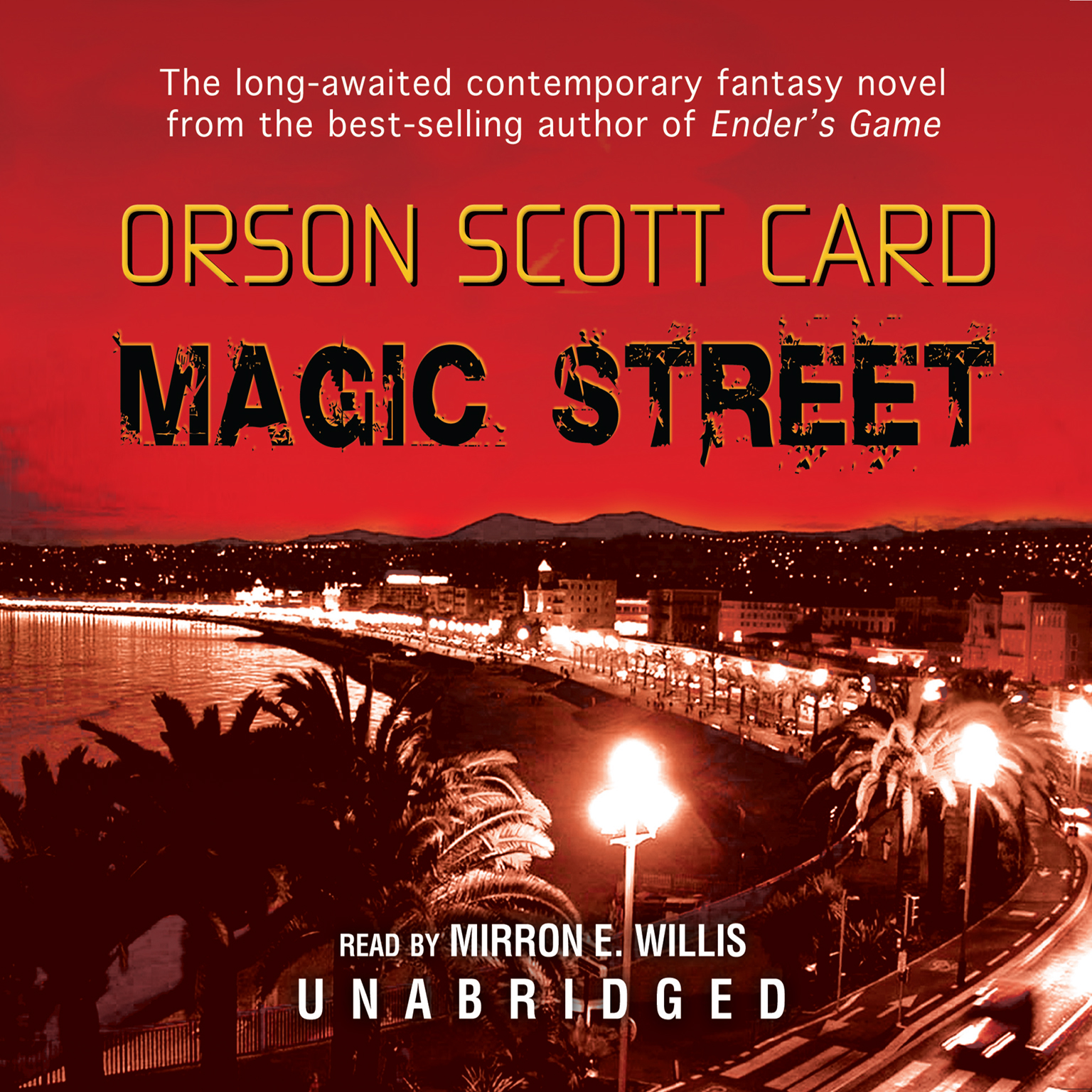 Printable Magic Street Audiobook Cover Art