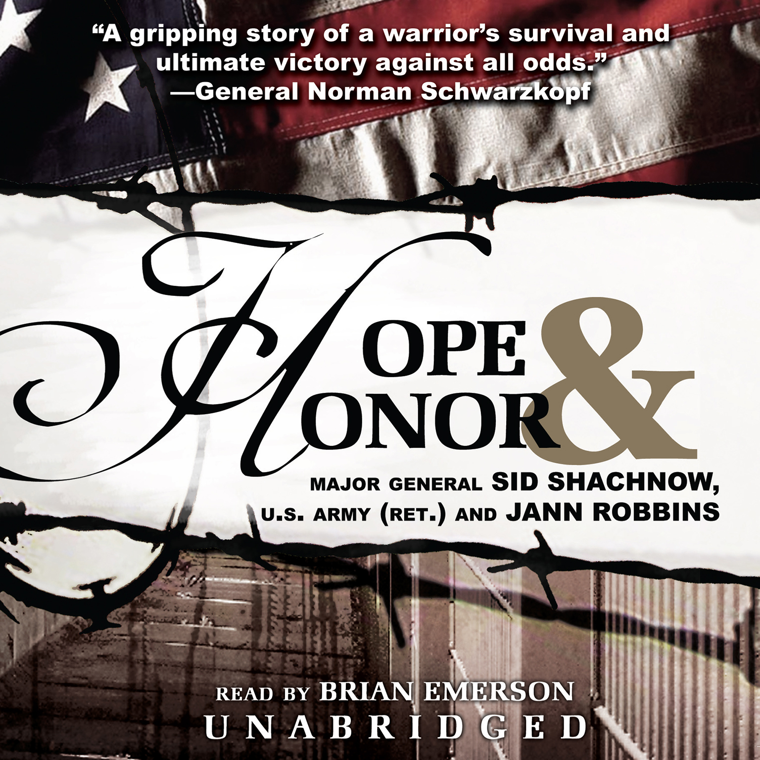 Printable Hope and Honor Audiobook Cover Art