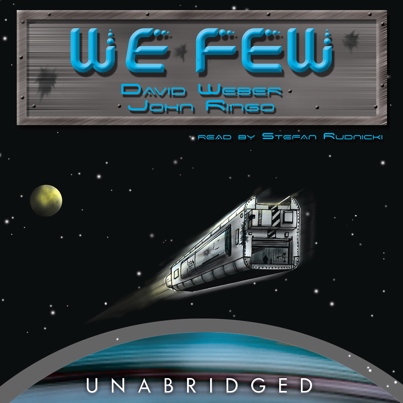 Printable We Few Audiobook Cover Art