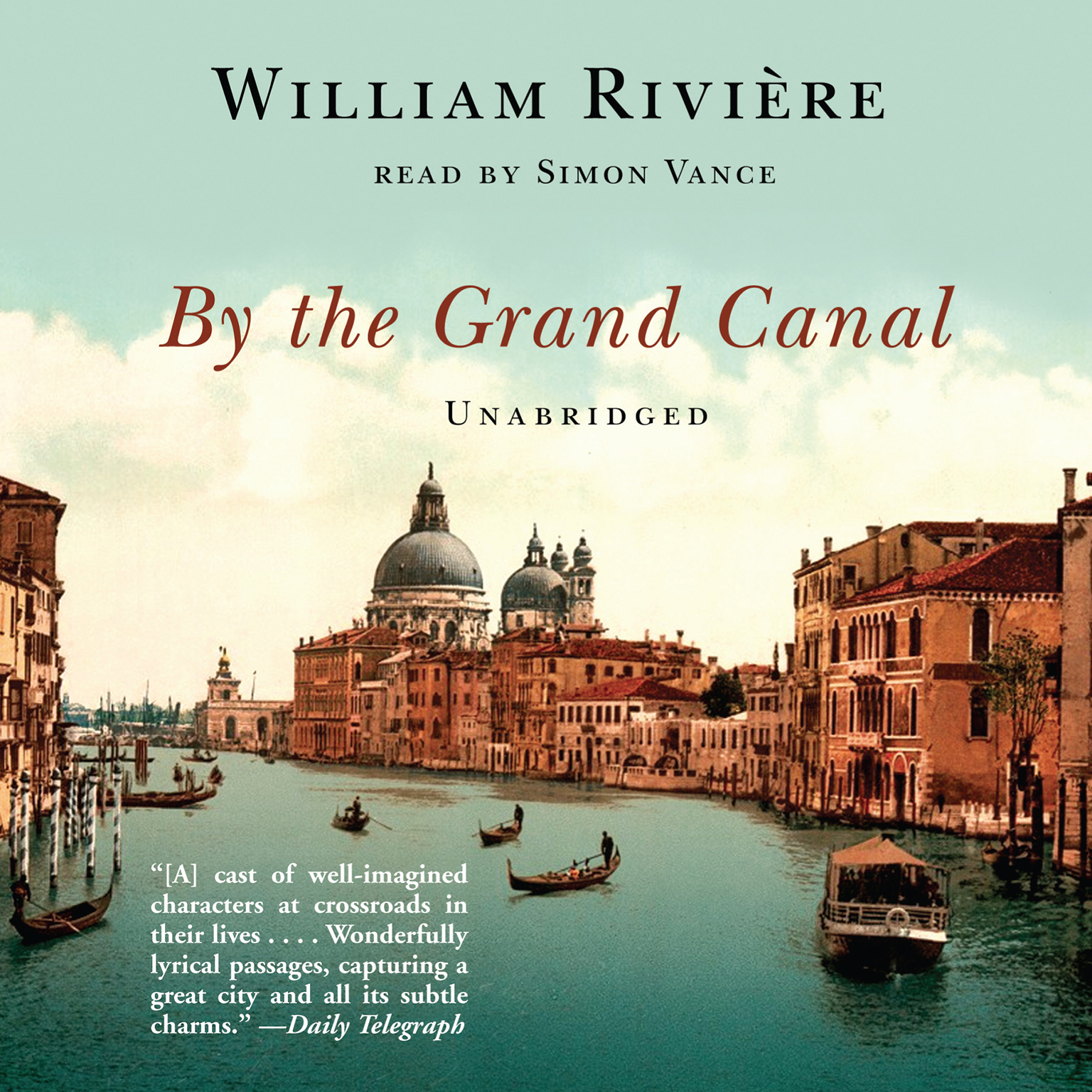 Printable By the Grand Canal Audiobook Cover Art